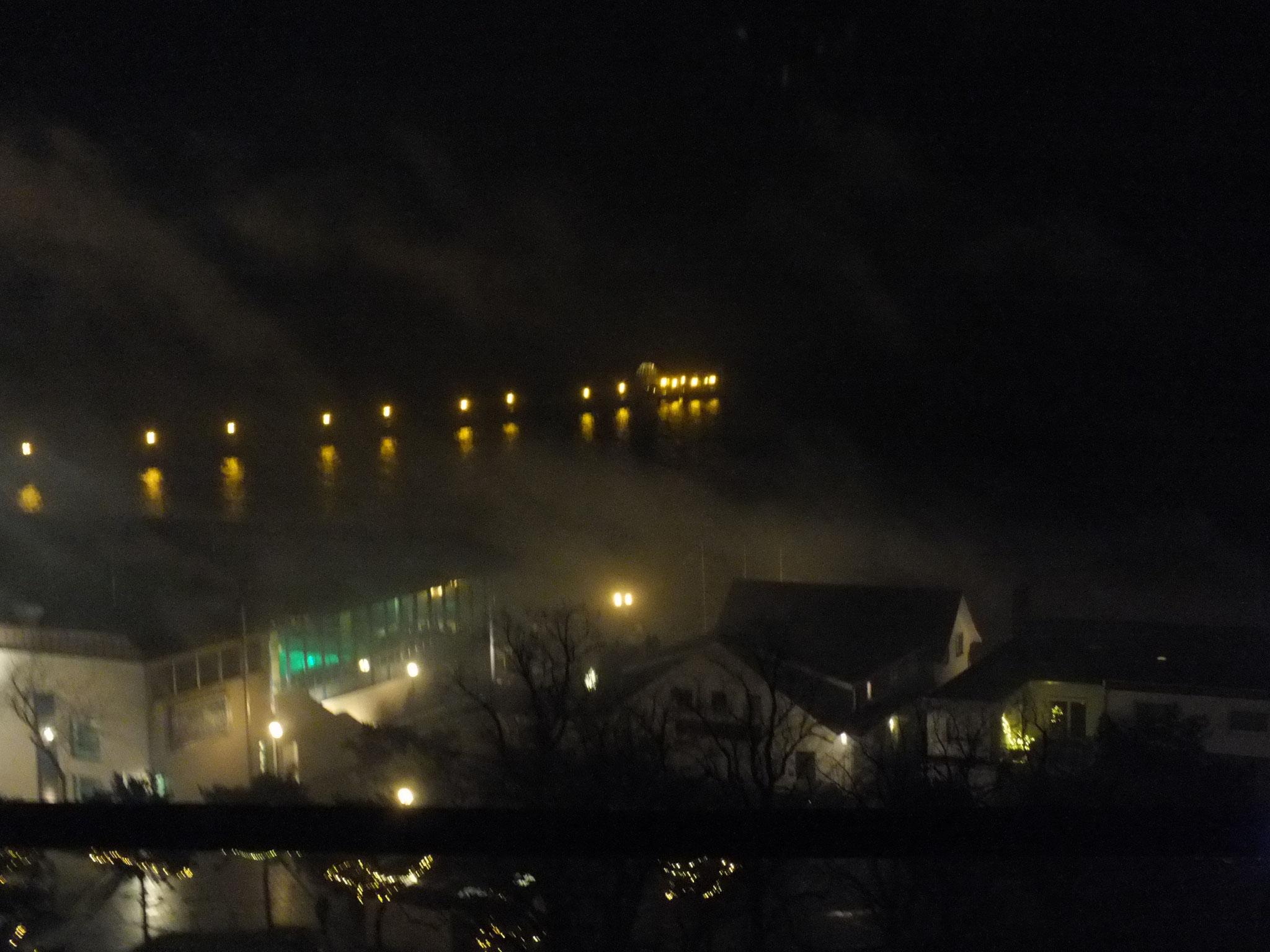 Anlegeplatz bei Nacht
