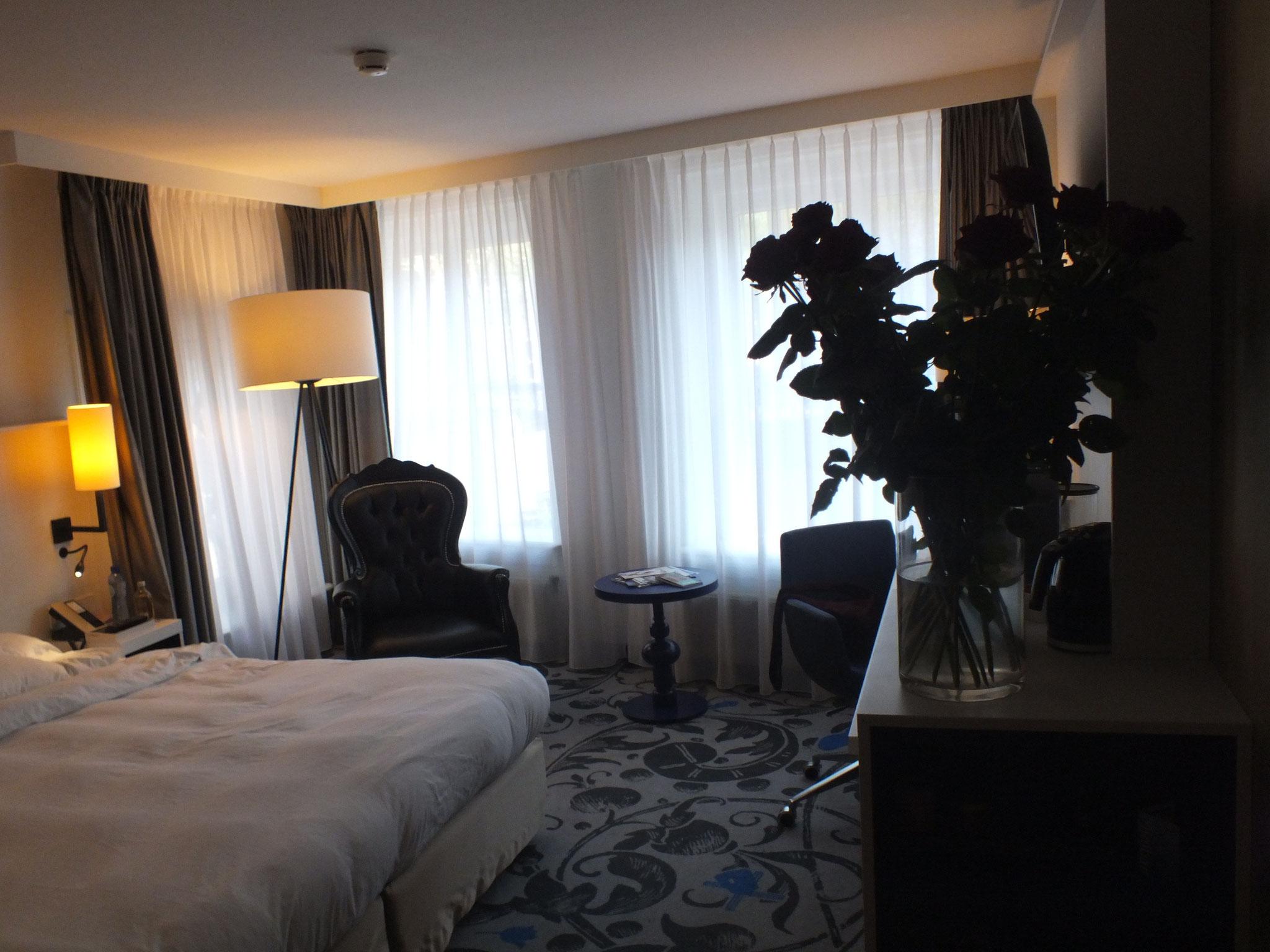 Unser Hotelzimmer im Radisson Blu, Rusland