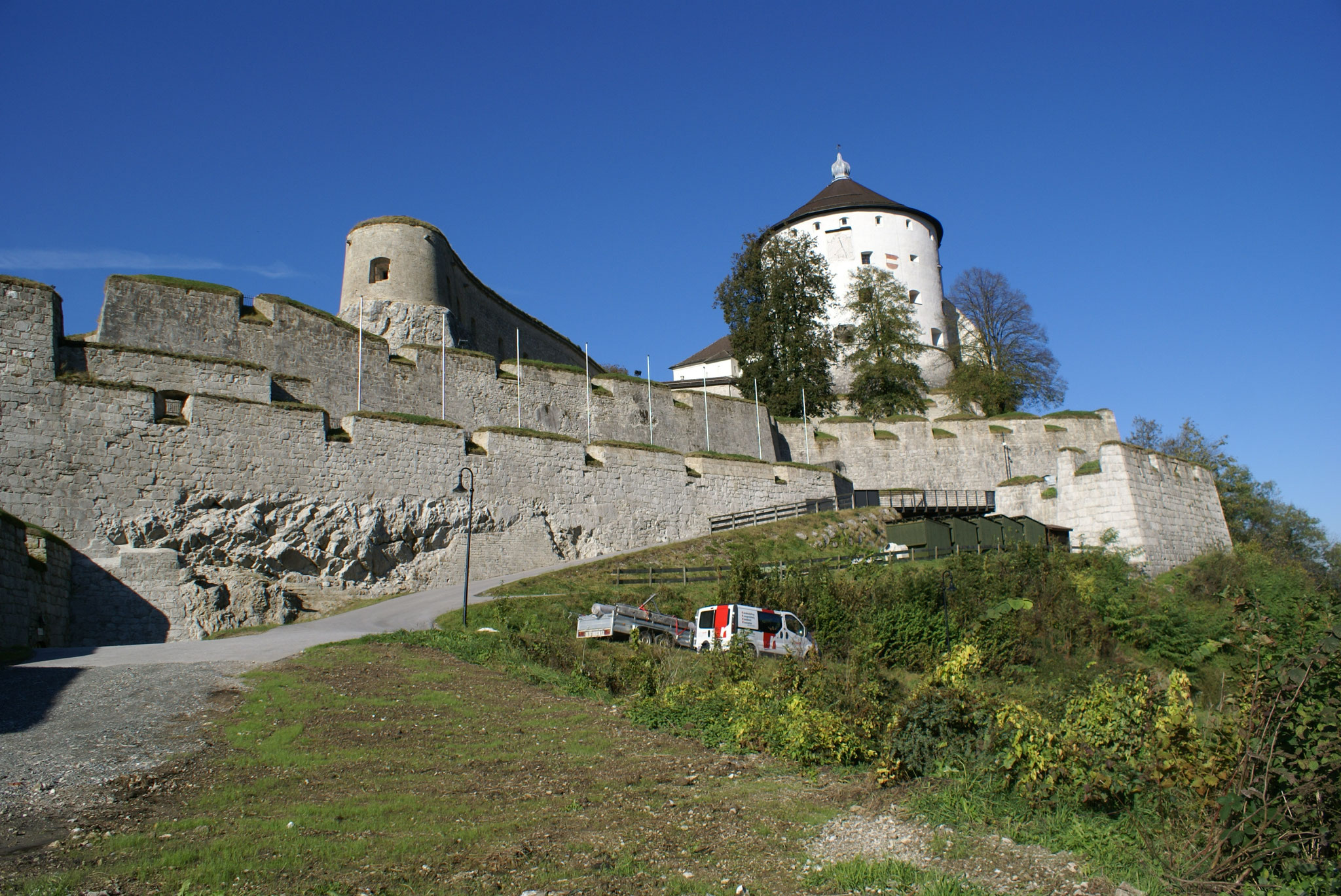 Steinmetzmeister/Restaurator Erich Reichl Salzburg; Burg Kufstein