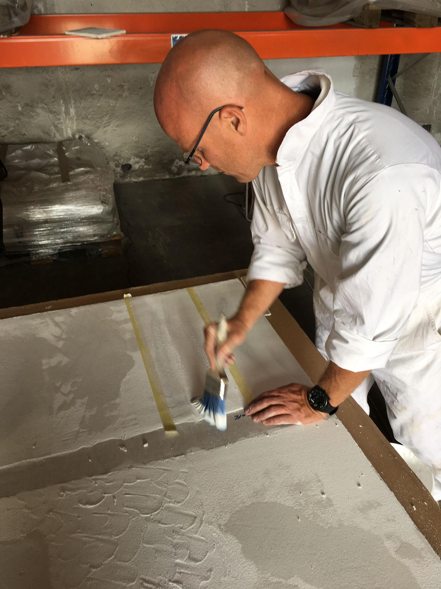 Malermeister Michael Gühl_Kundenschulung Anstrichtechnik