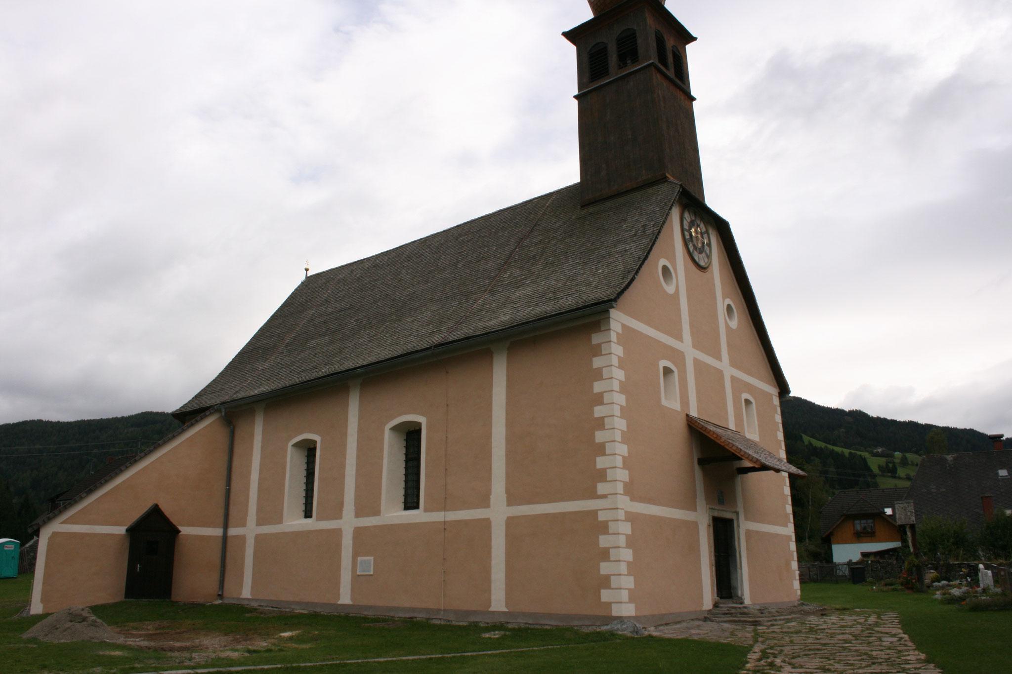 Restaurator Malermeister Heinz Schnedl Kirche Steirisch Laßnitz