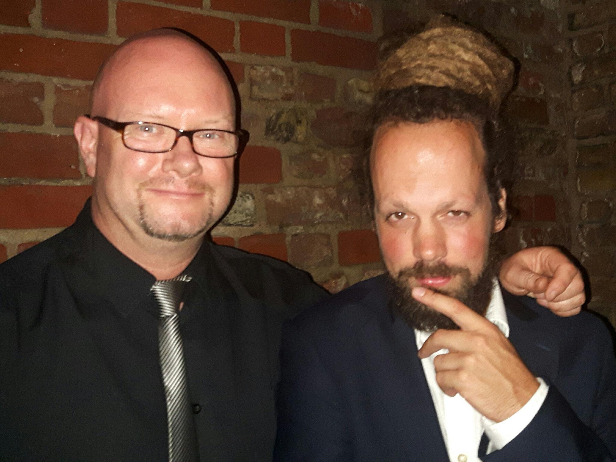 2017 mit dem Schweizer Reggae Star Collie Herb