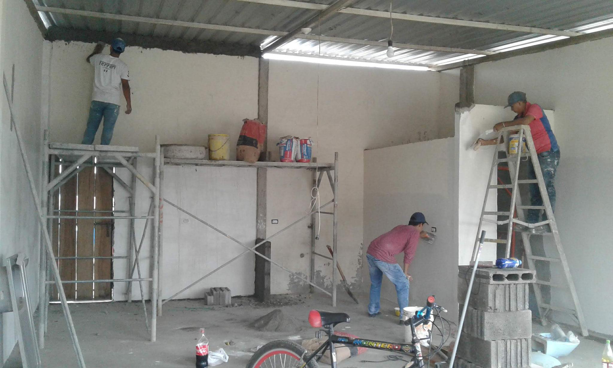 Ausbau und Fertigstellung