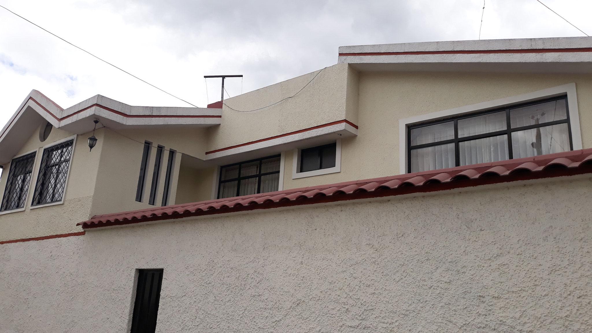 Unsere Wohnung die wir in Ibarra mieteten