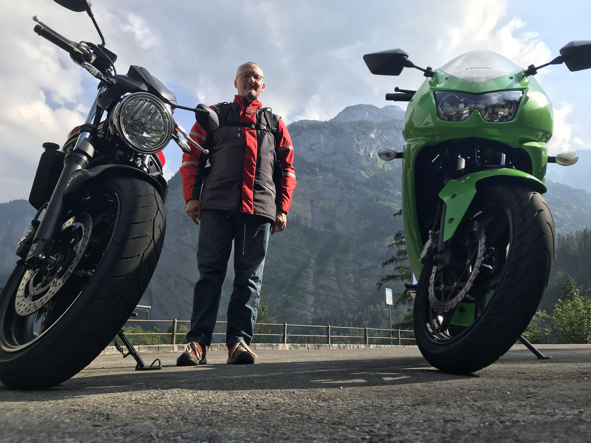 Motorradtour in der Schweiz