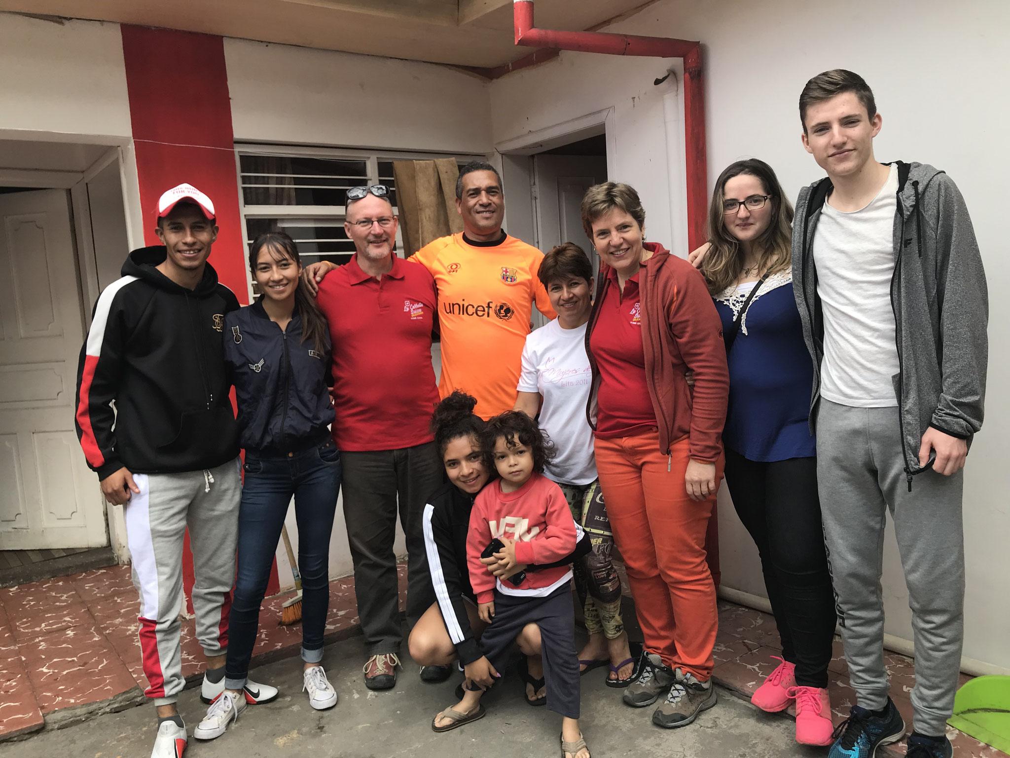 Besuch bei Familie Vinicio Valverde