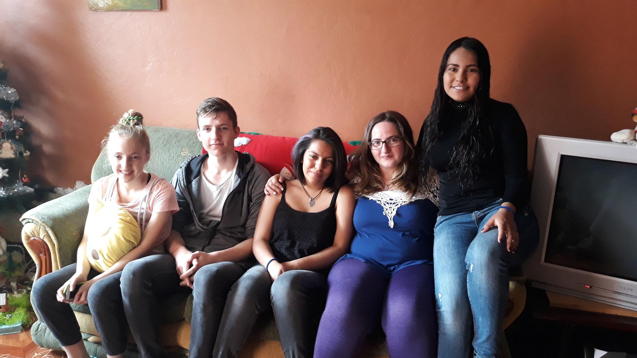 Unsere Kinder mit Liz und Daniela