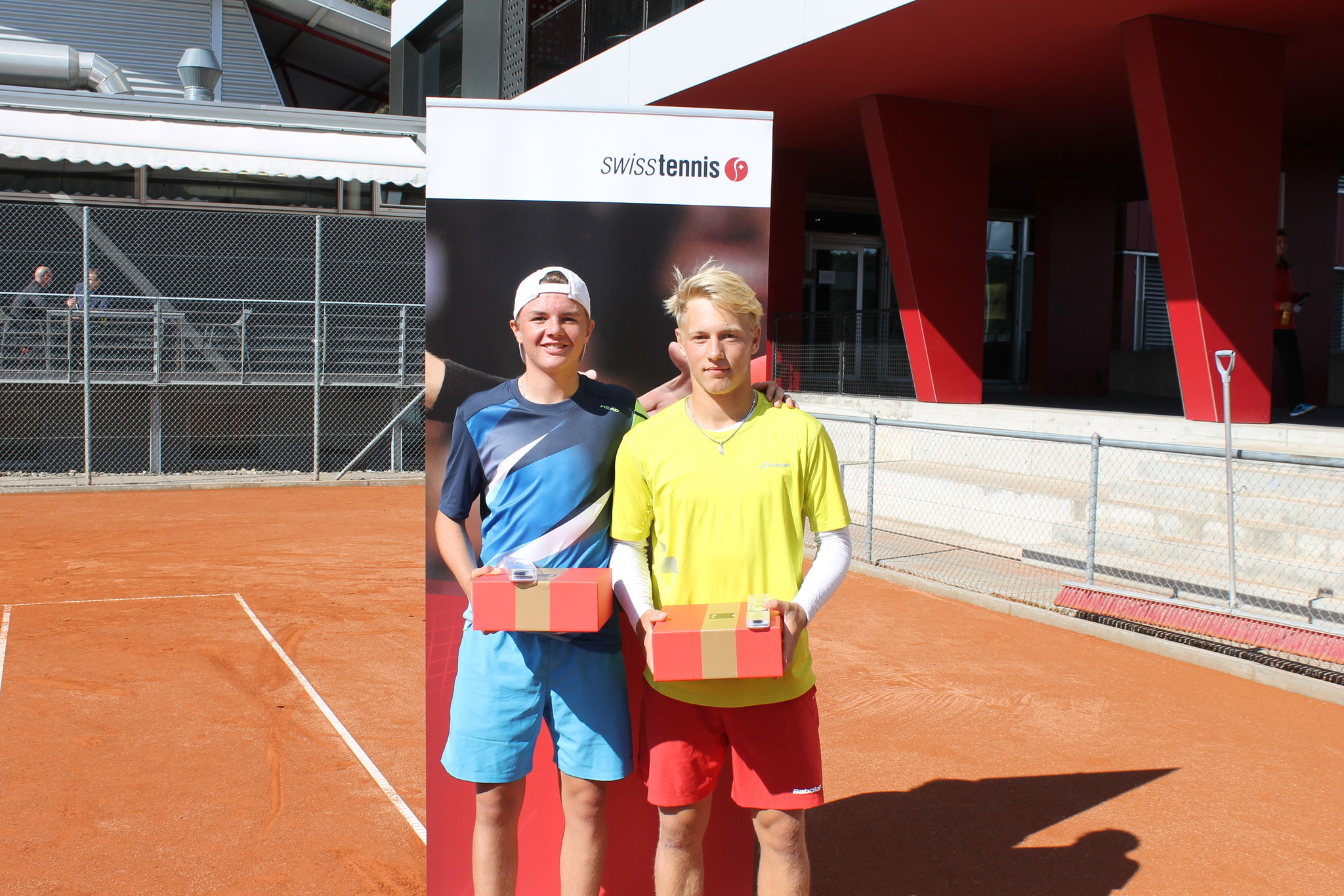 Sieger MD ITF U18 Swiss Tennis Junior Trophy 2017 (Partner Alt Joel)