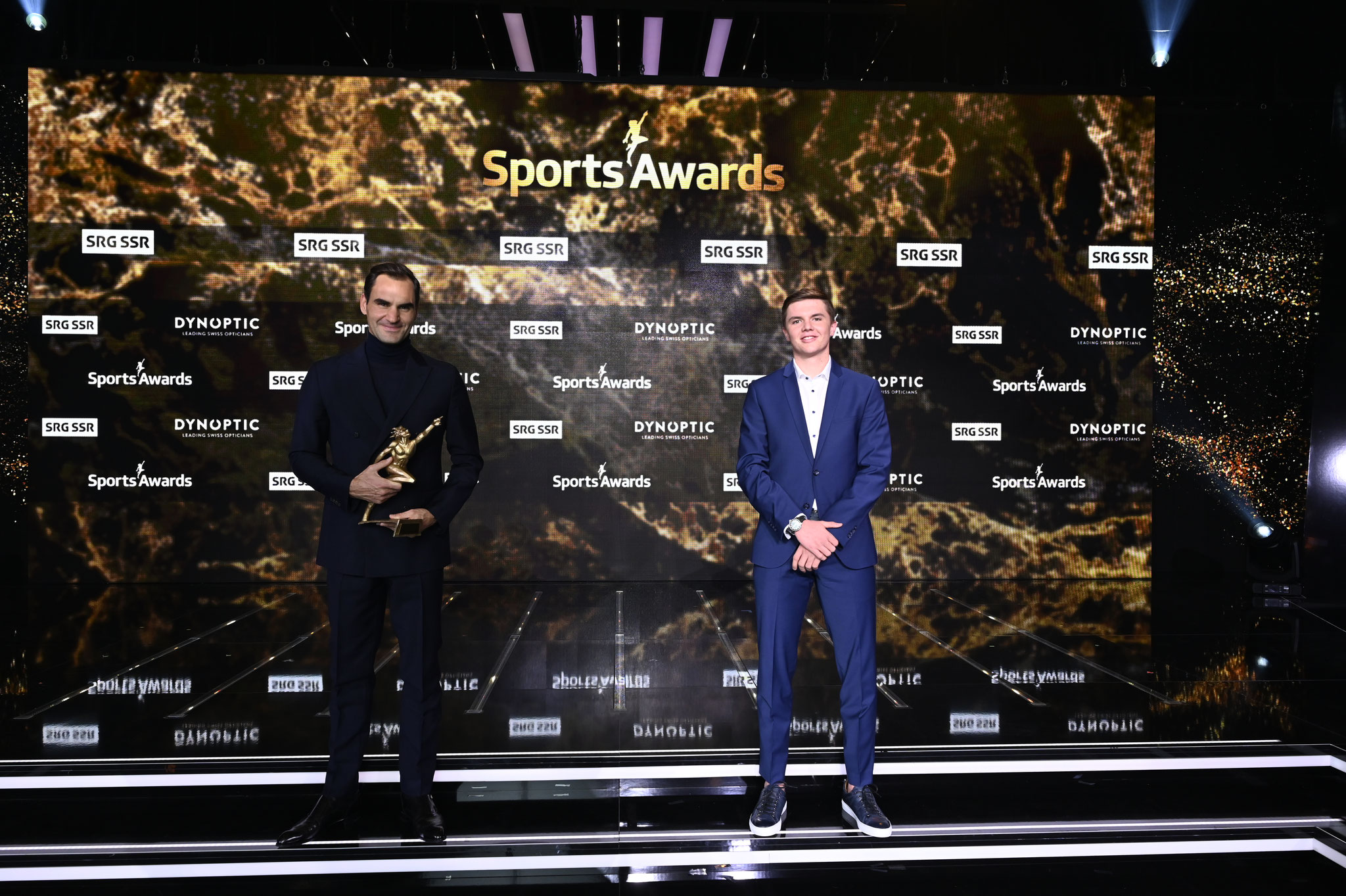 Neben Roger (Wahl zum besten Sportler der letzten 70 Jahre)
