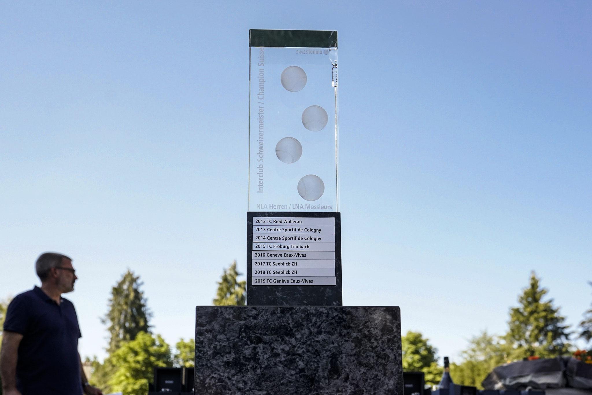 Der Wanderpokal gehört 2020 dem TC Seeblick