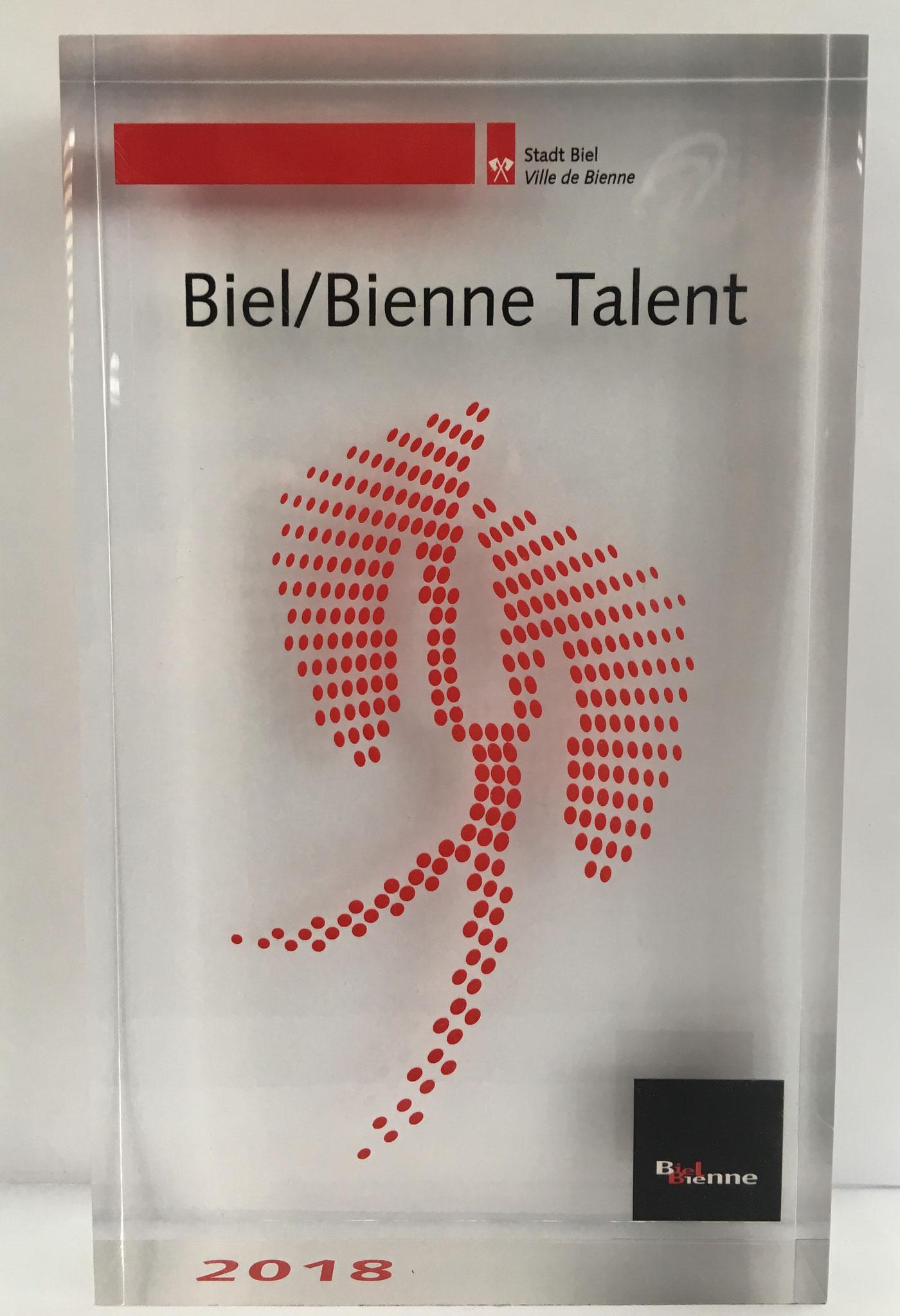 Biel / Bienne Talent Ehrung 2018