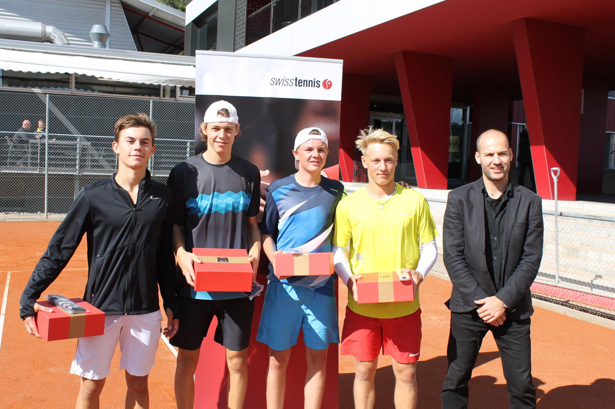 Finalgegner MD ITF Biel (beide standen im Einzelfinal)