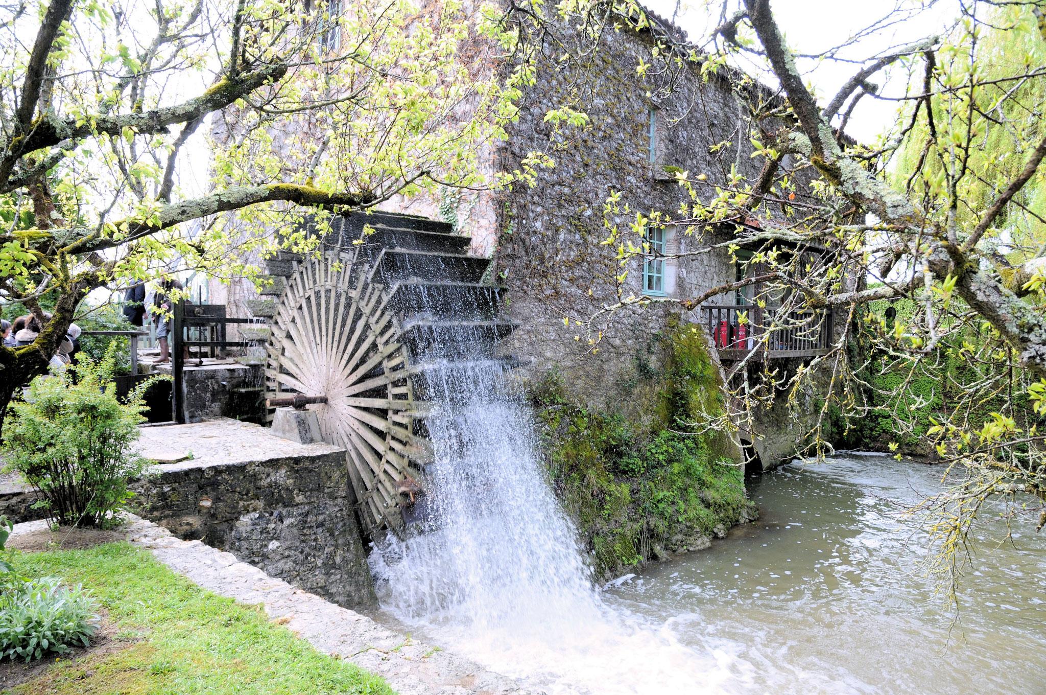 Le moulin de Cocussotte : détail
