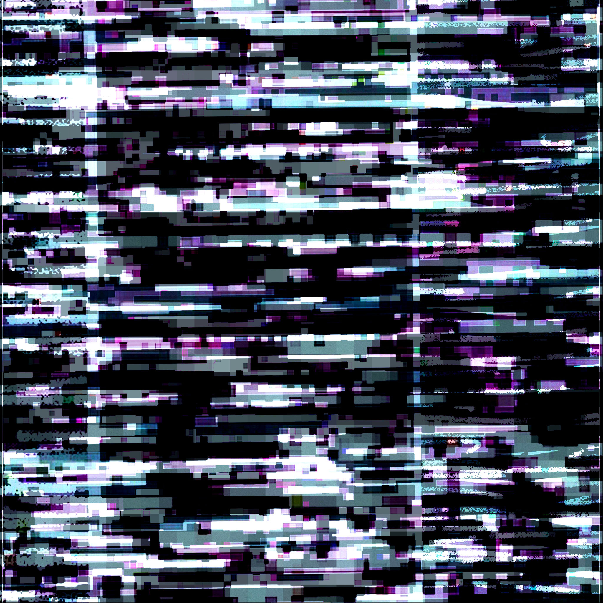 Homage à Agnes Martins Bild The sea; No. II