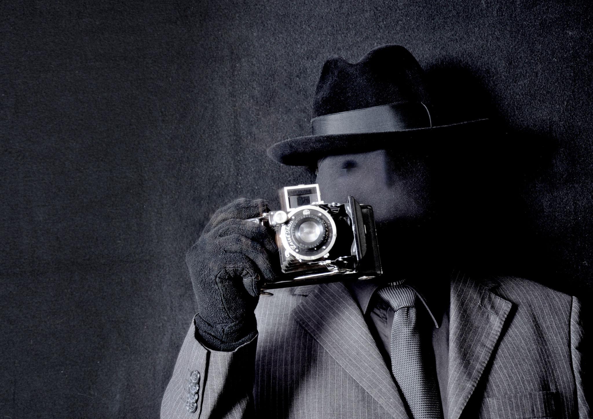 Selbstbildnis als Foptograf