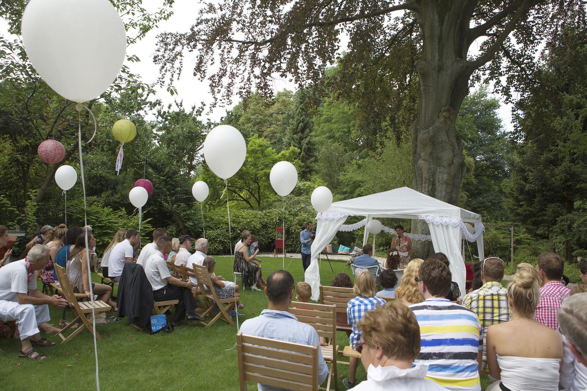 Bruiloft in Rottedam
