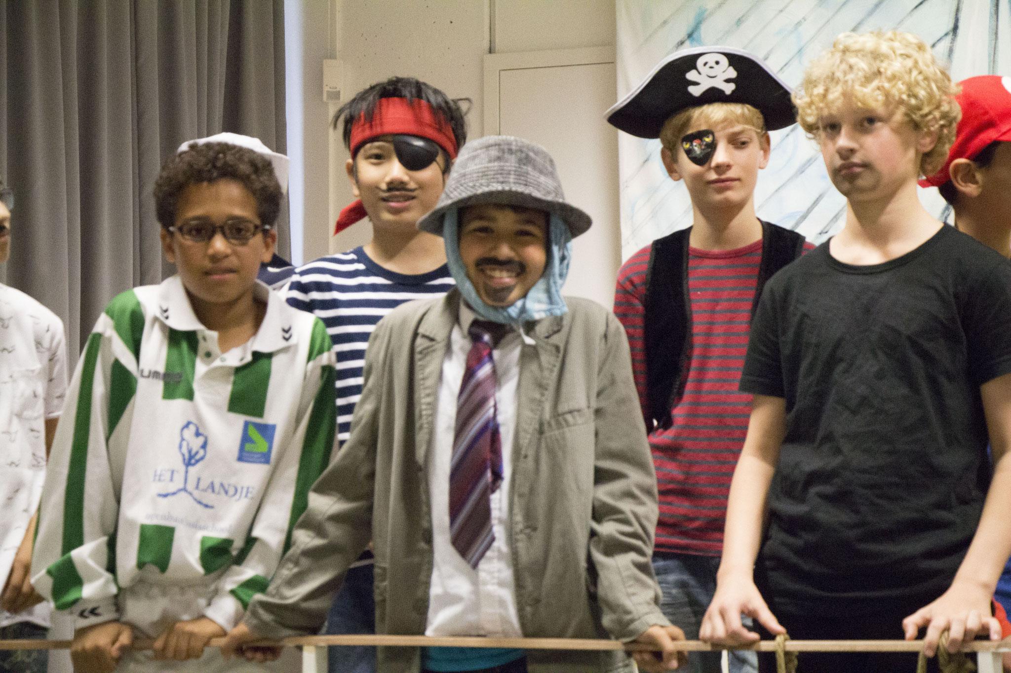 Eind Musical Groep 8  'Alles Overboord'  | © OBS Het Landje