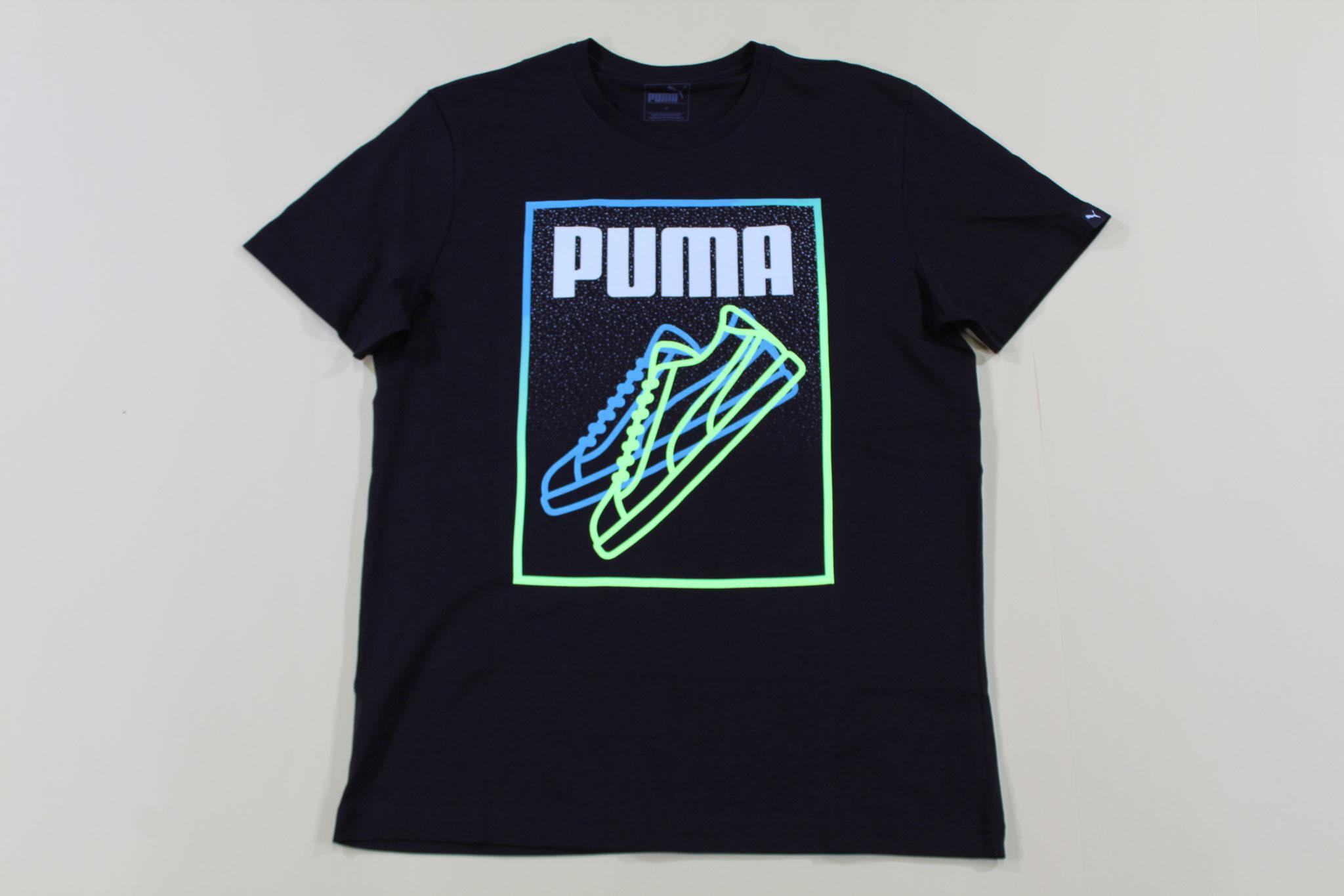 プーマ スニーカーラインTシャツ