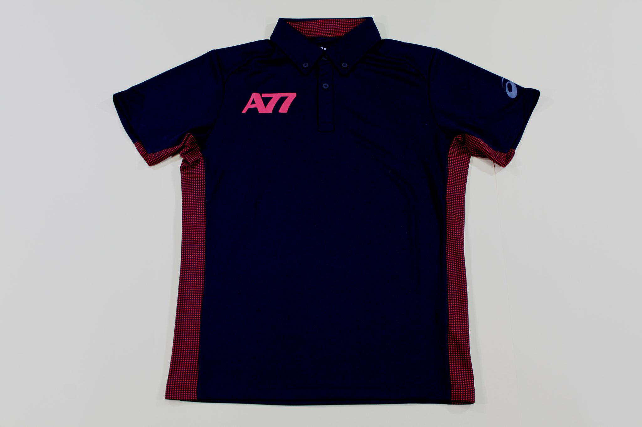 アシックス ボタンダウンシャツ