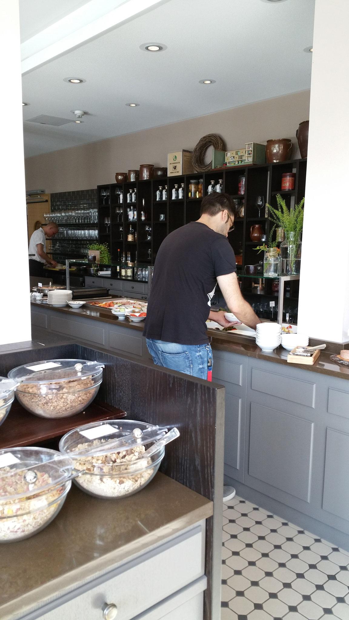 Frühstück im Kieler Kaufmann