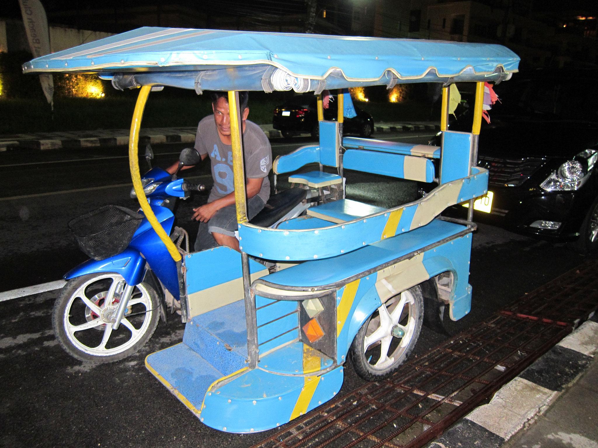 Unser Taxi für die Heimfahrt