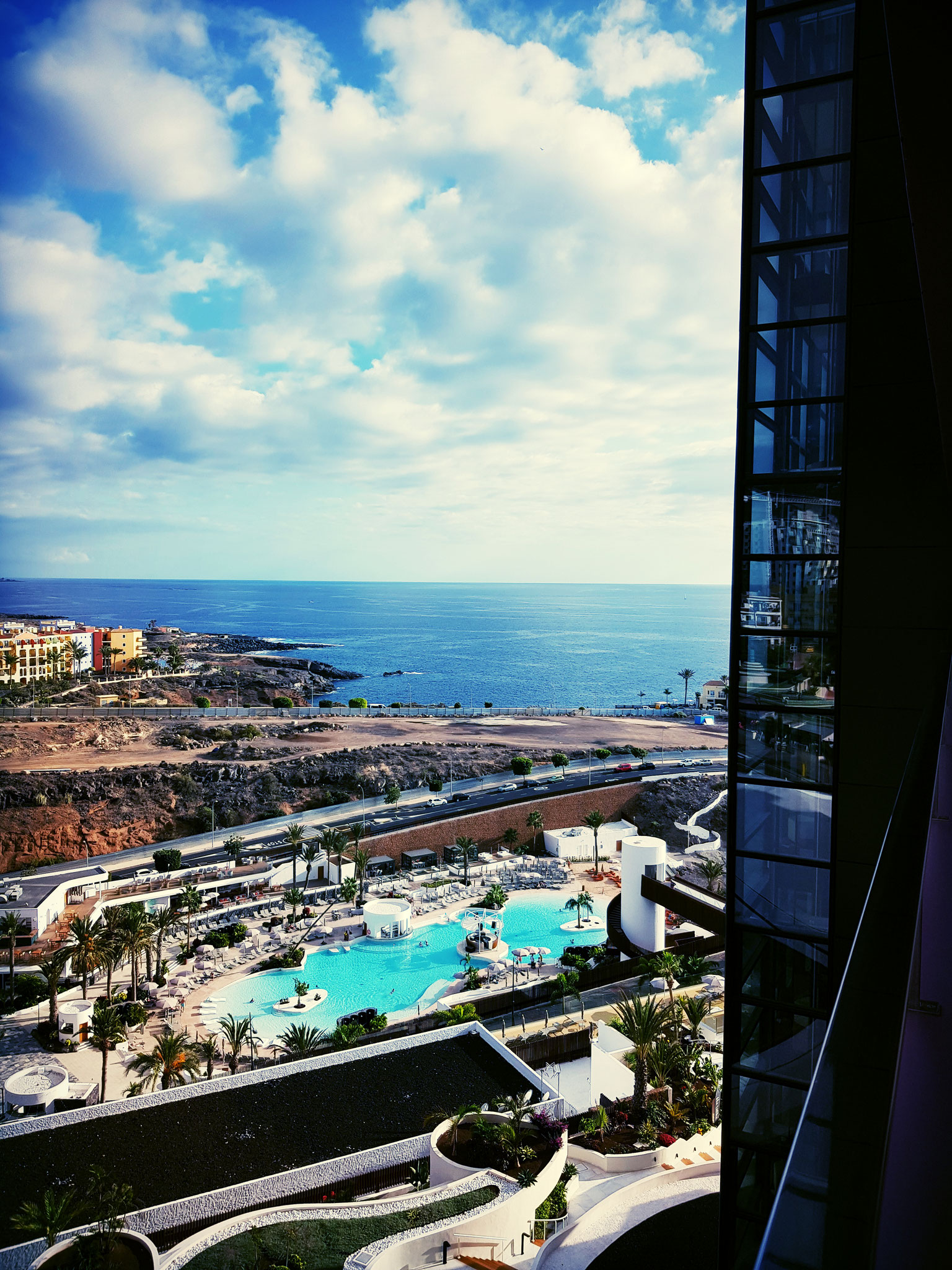 Hard Rock Hotel Teneriffa Balkon