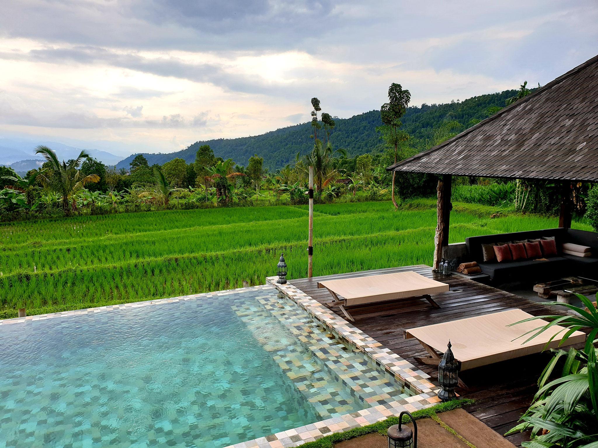 private Poolvilla auf Bali