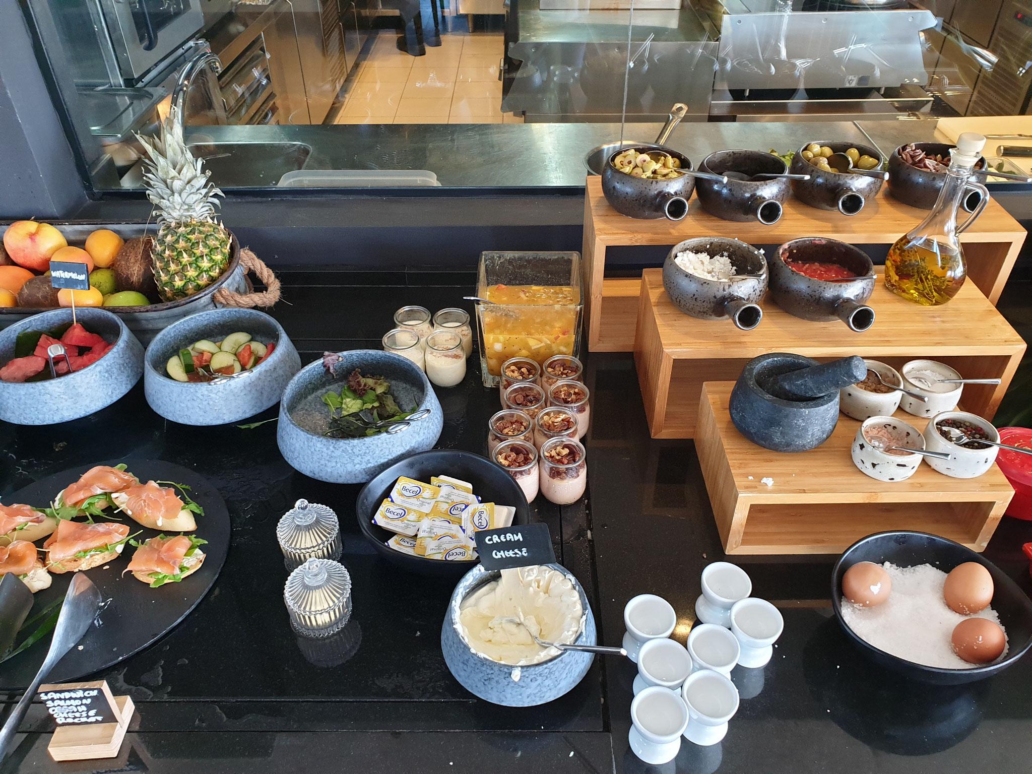 Frühstück Lango Design Hotel