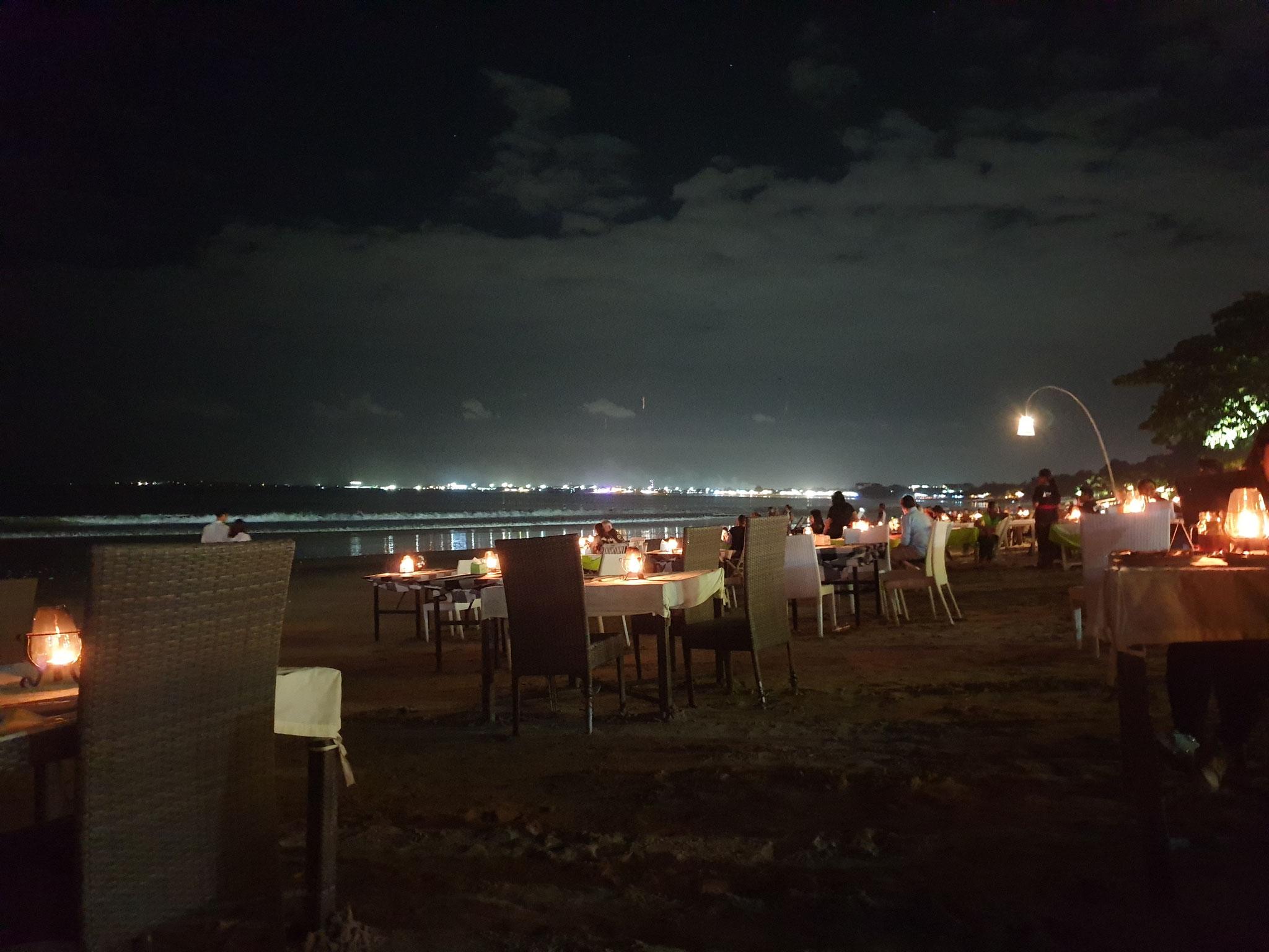 Jimbaran Fischrestaurants am Strand