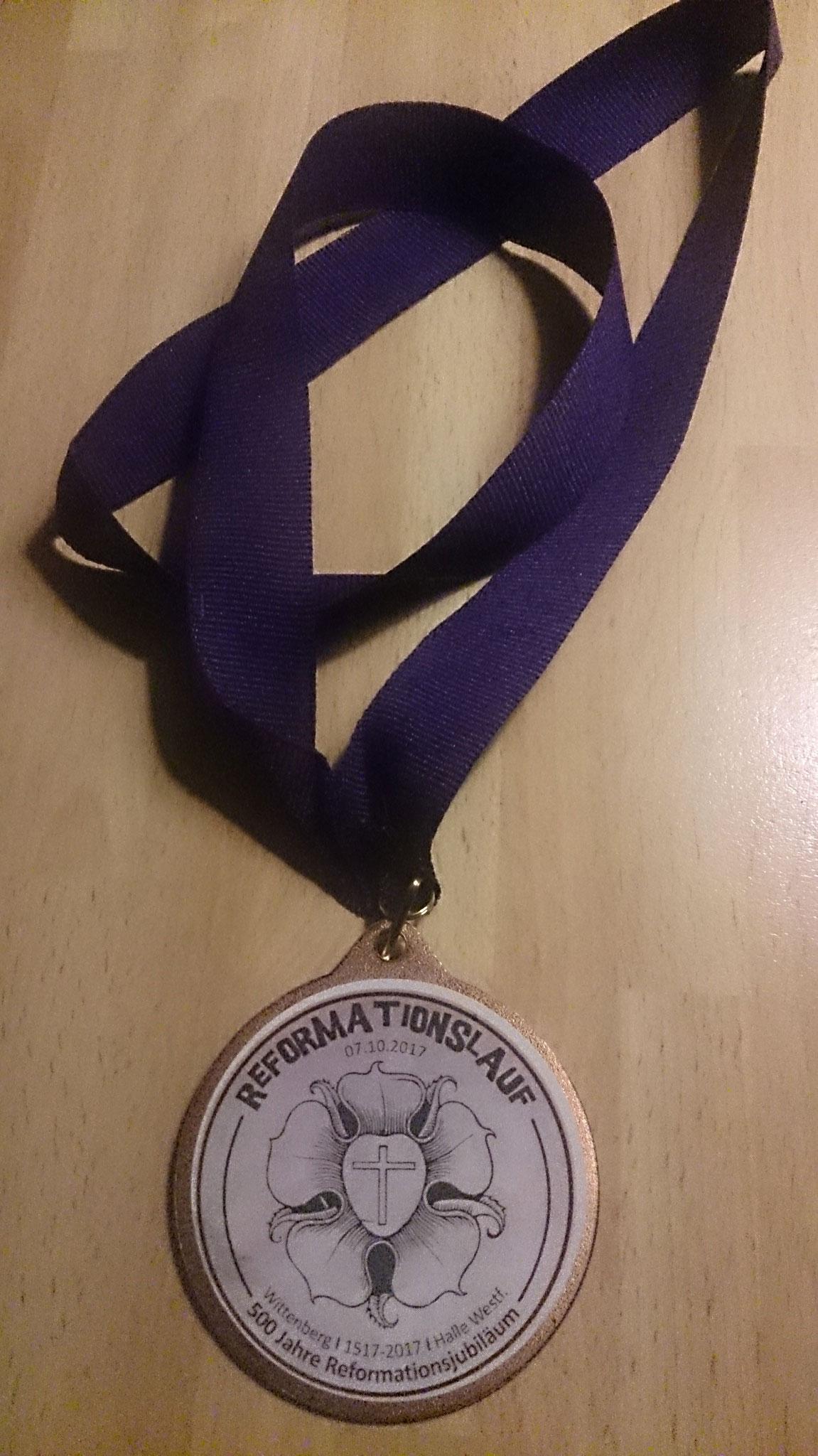 Alle bekamen Medaillen