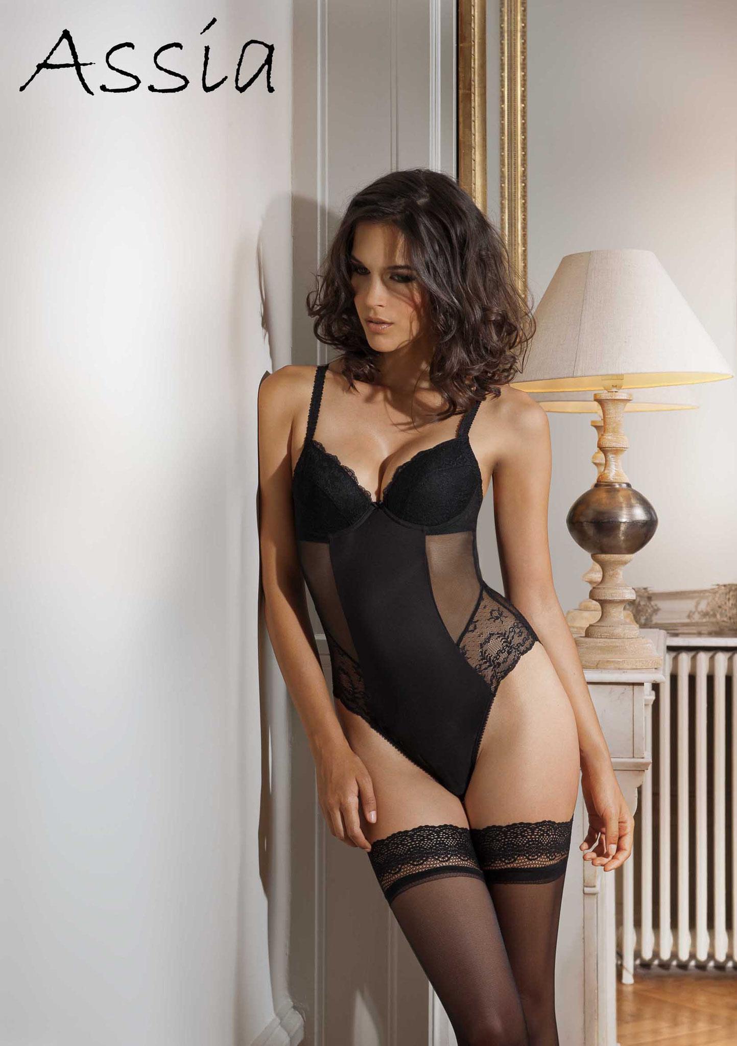 """Lingerie ligne """"Foudre noire"""" - sexy"""