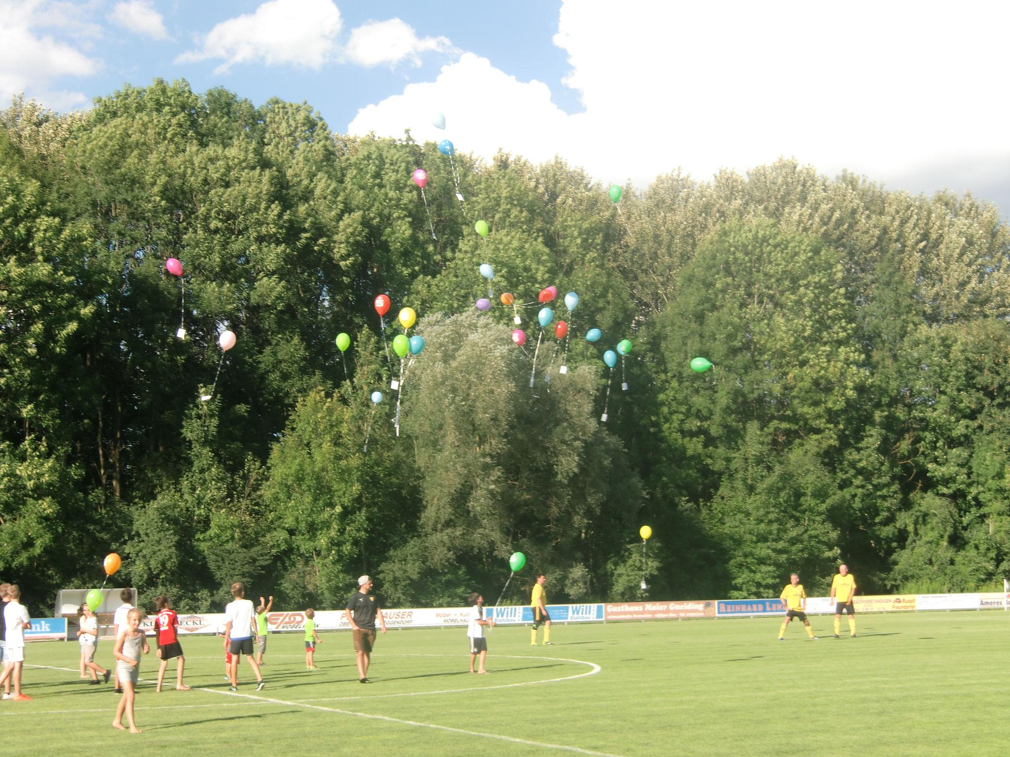 Luftballonfliegen