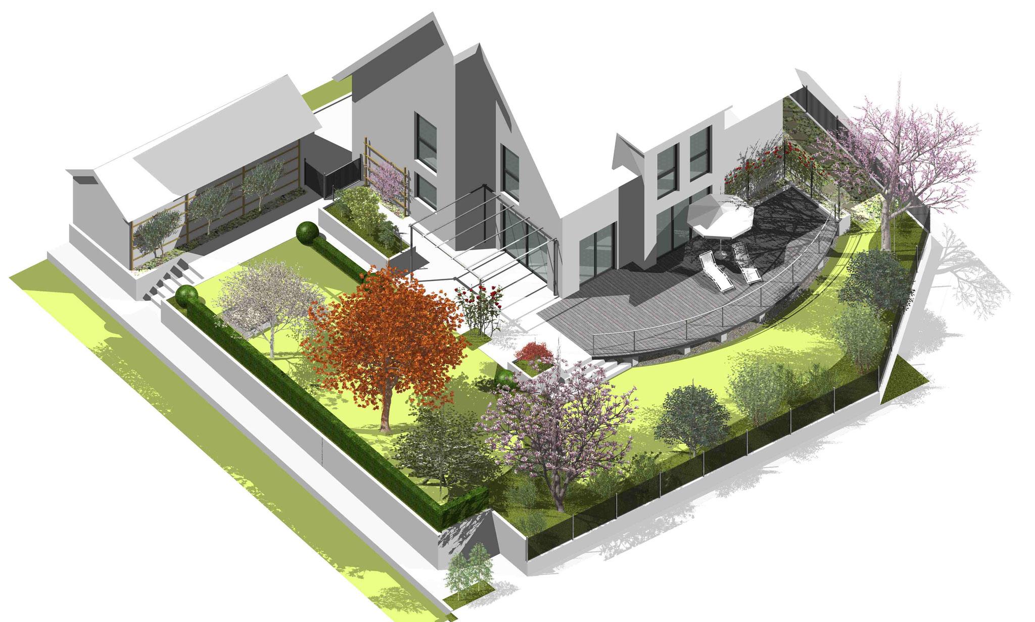 CAD-Plan Komplettansicht