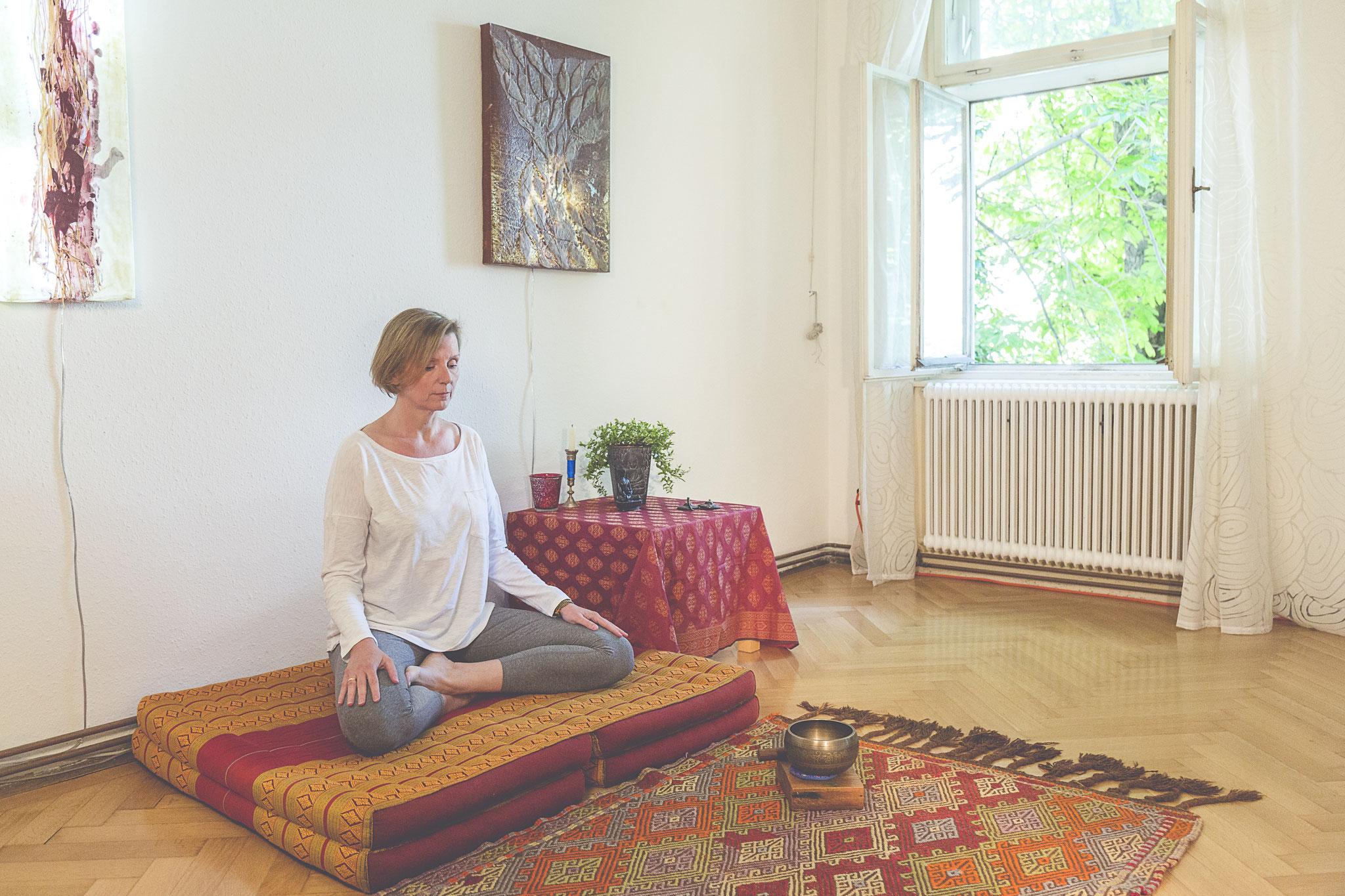 Meditation für die Kraft aus der eigenen Mitte