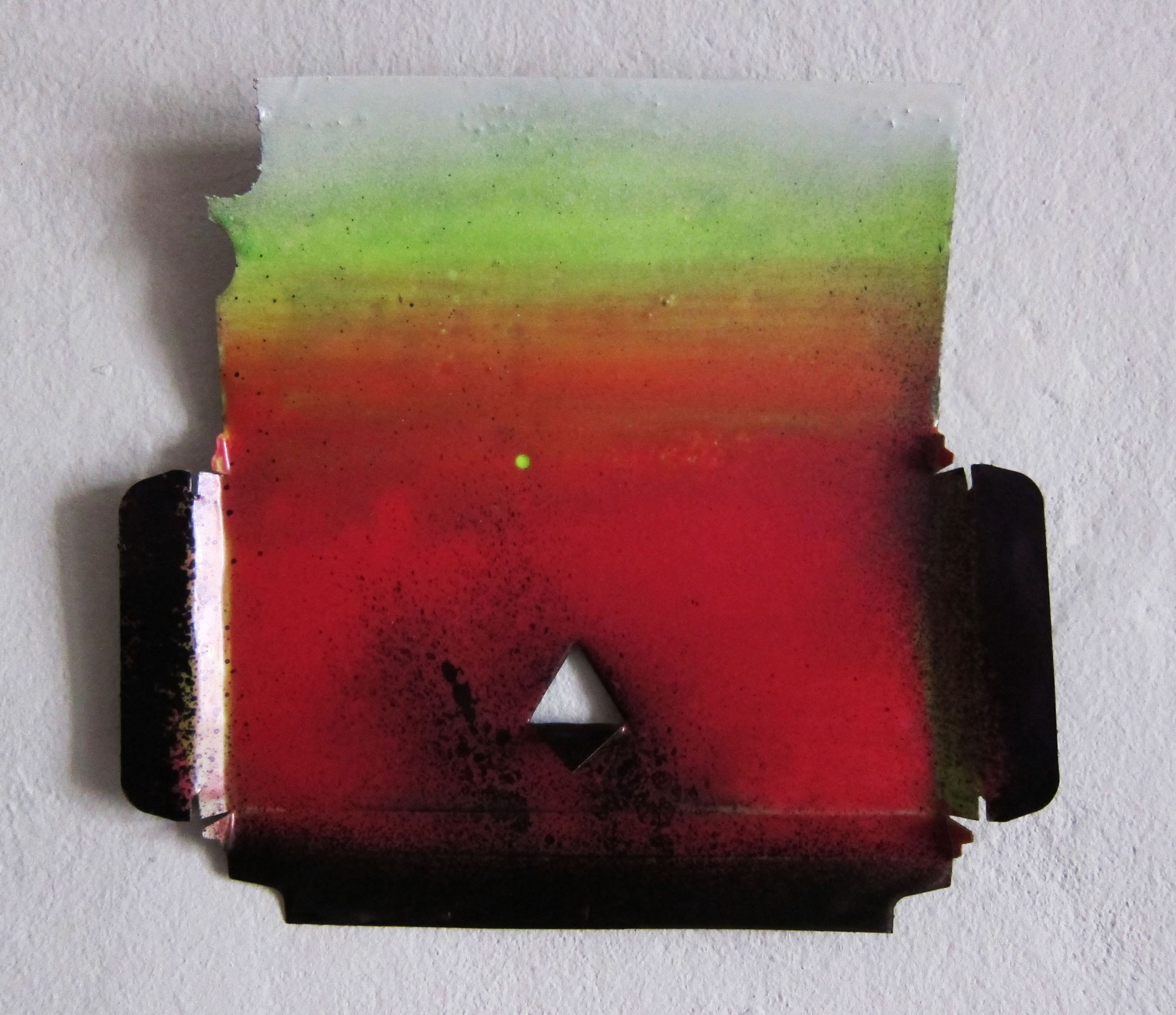 iChoc, 2016, carton coated with epoxy resin, 18x20cm