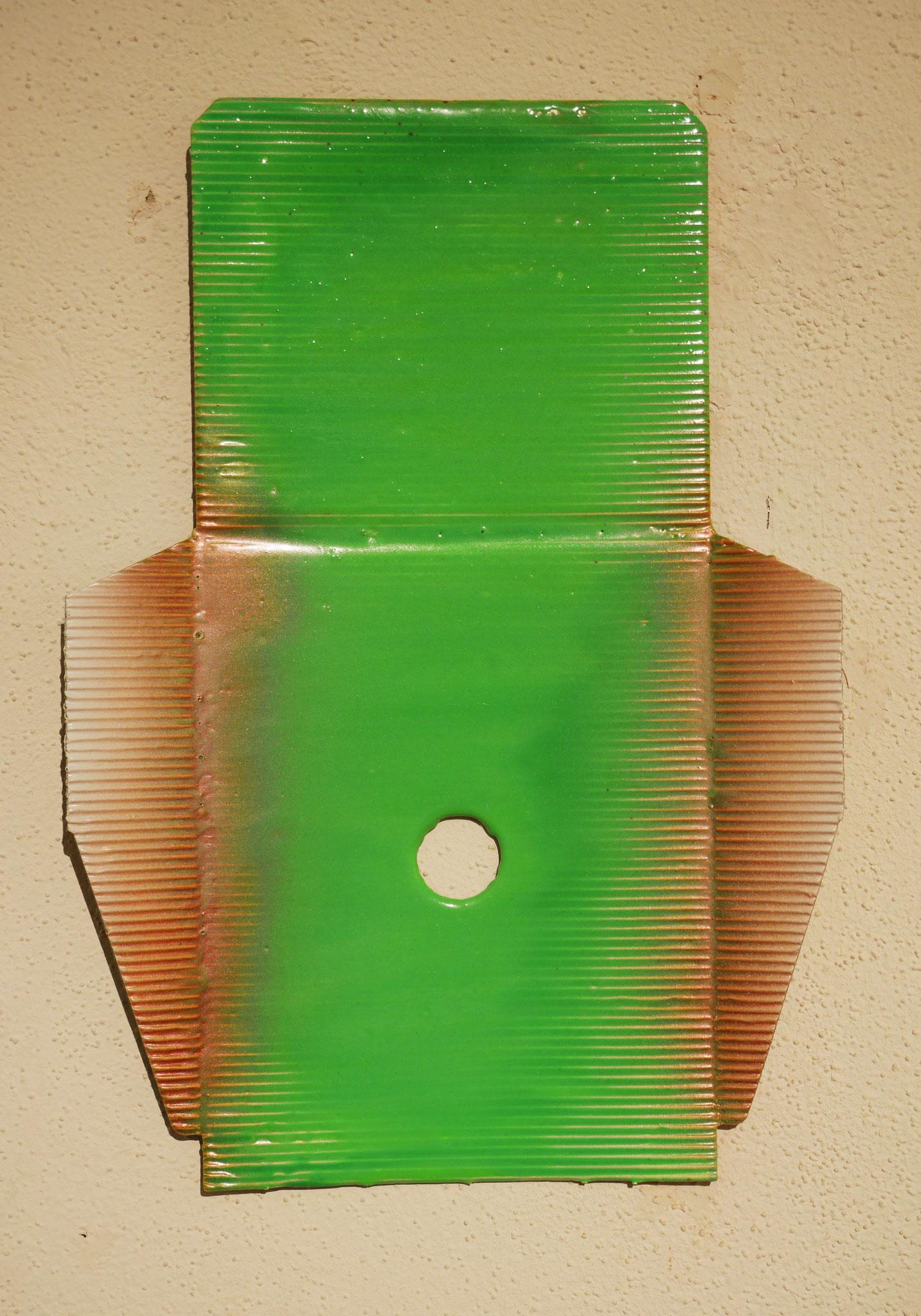 Hoover, 2016, Verpackungskarton und Polyurethan, 31x23cm