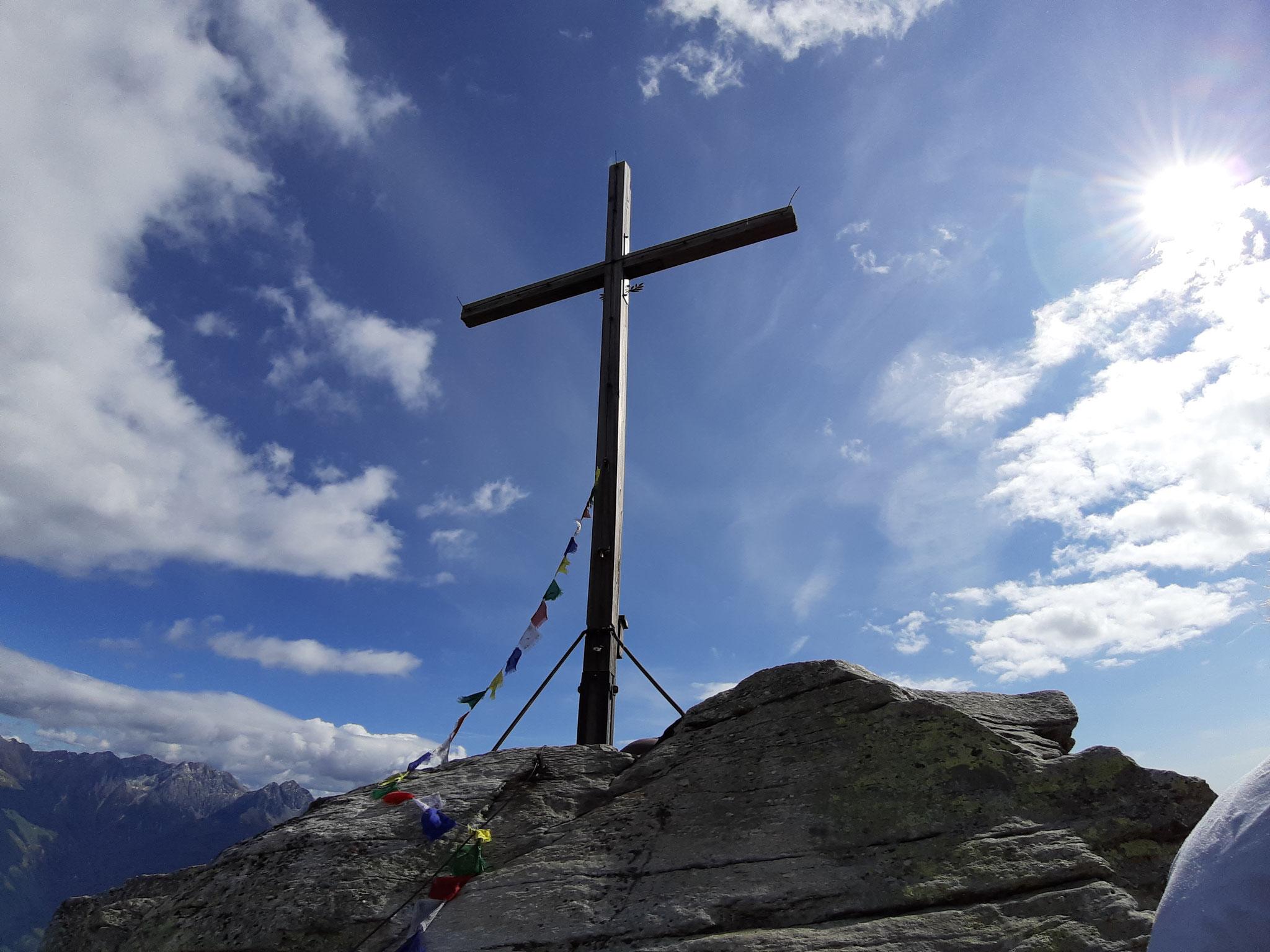 Gipfelkreuz Mutspitze