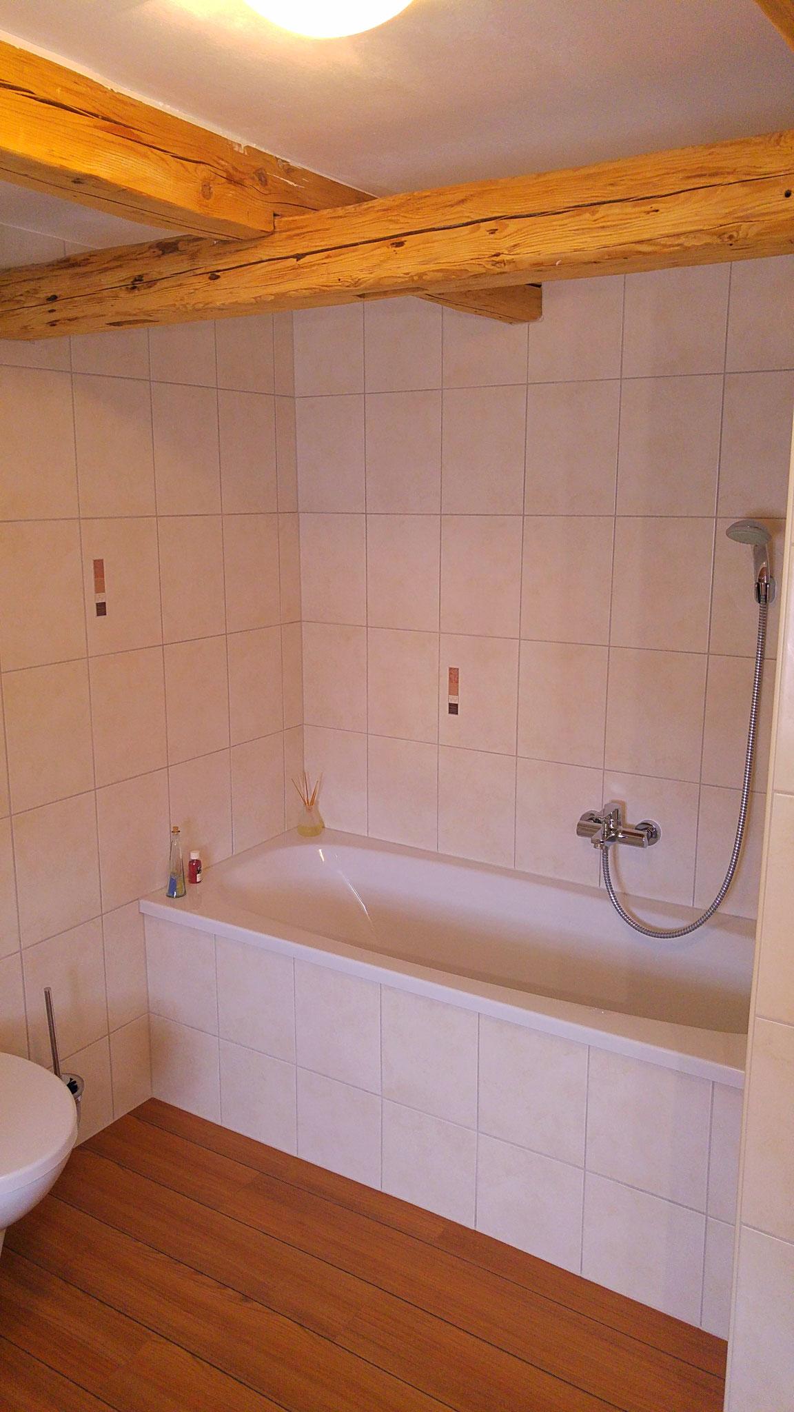 ...die Badewanne...