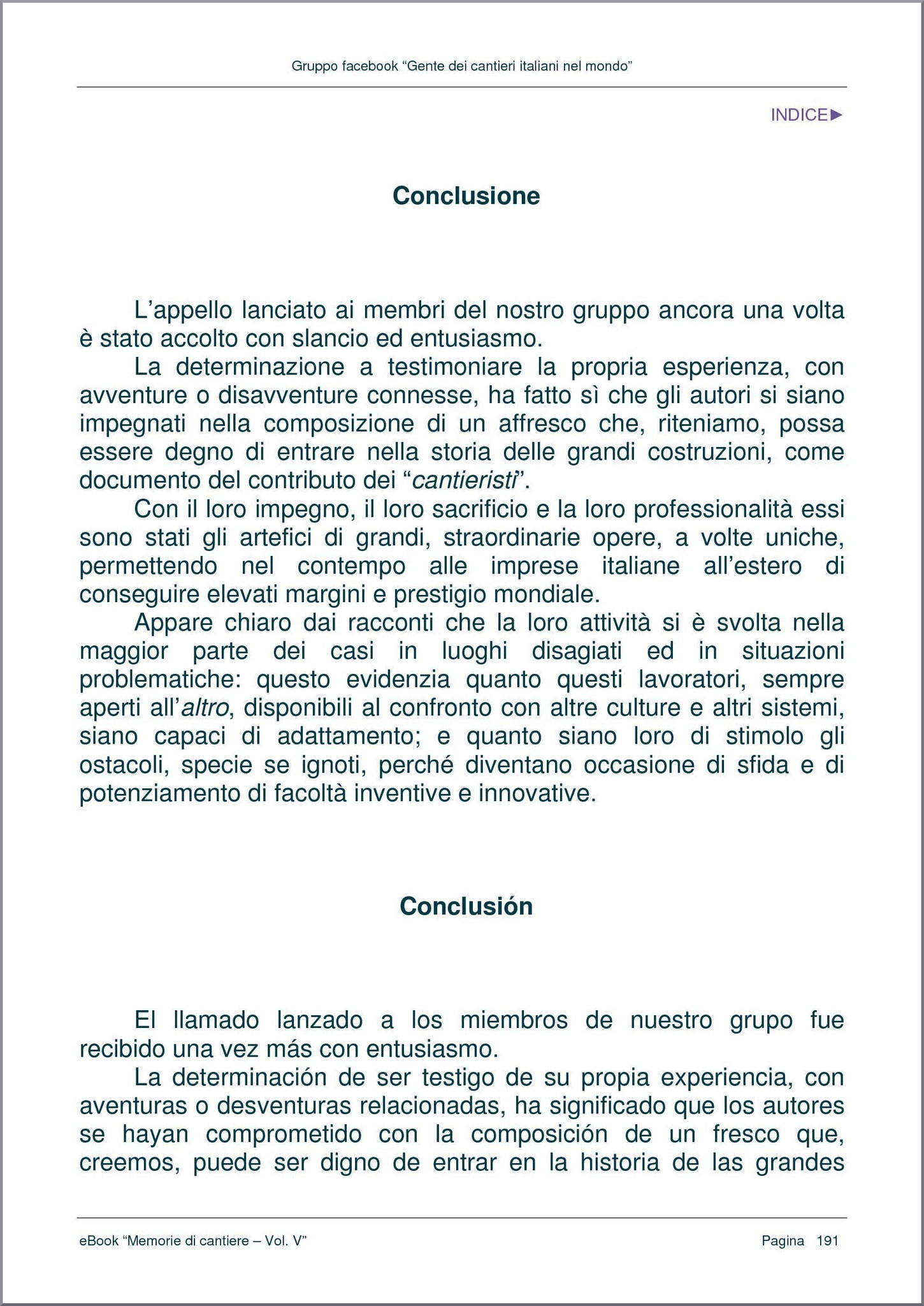 CONCLUSIONE - pag. 1