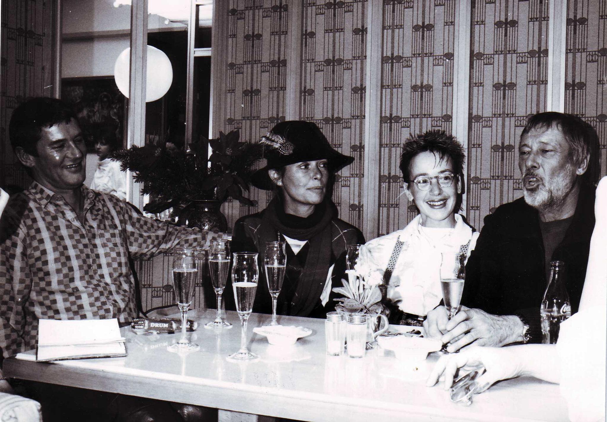 Cafe Central Mit Vivi Bach & Dietmar Schönherr 1985