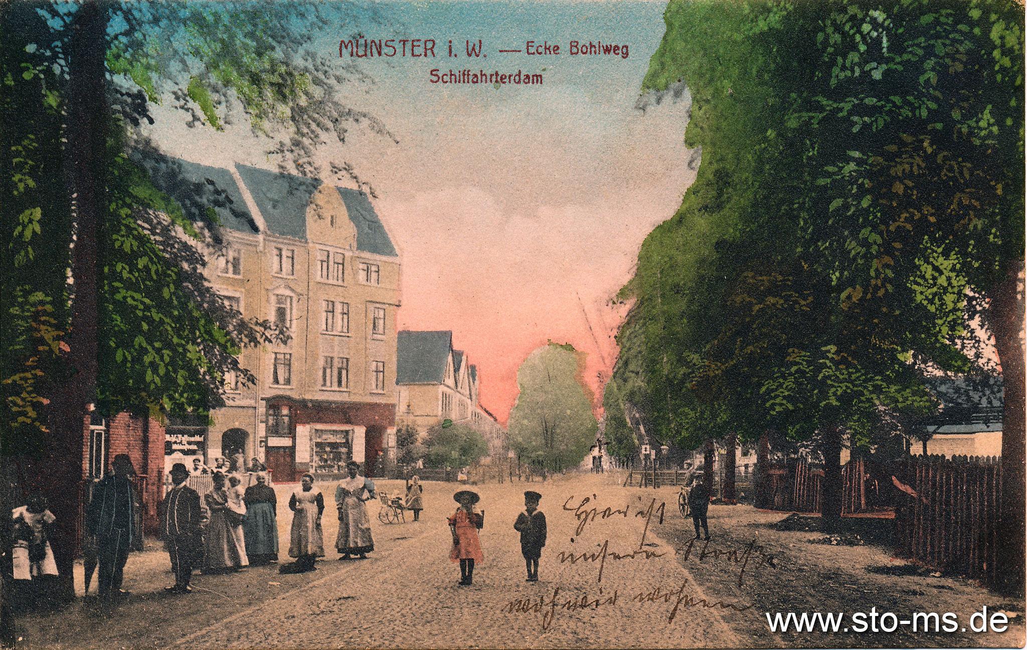 Schifffahrterdamm - Bohlweg (heute Ostmarkstraße)