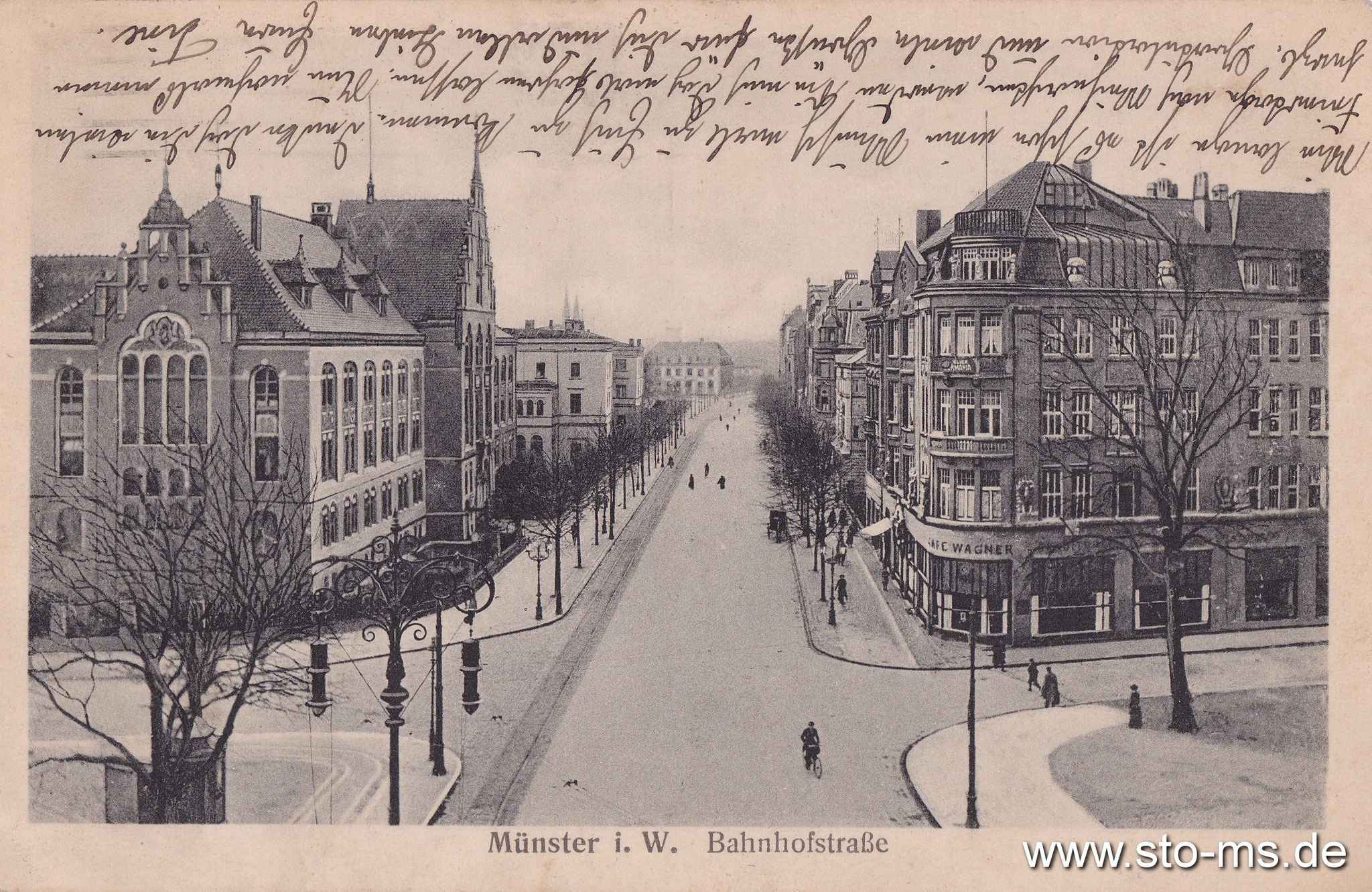 Bahnhofstraße Richtung Bahnhof