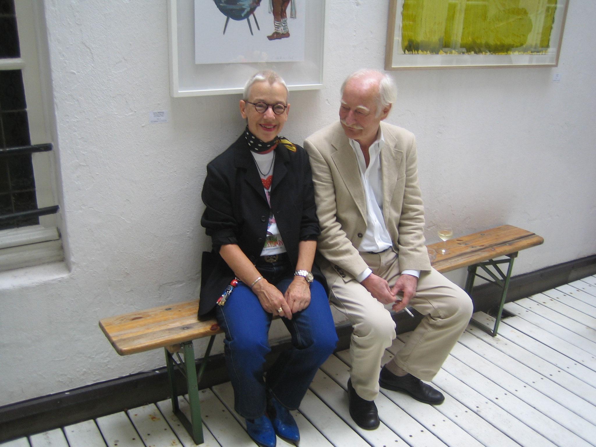40 J.Galerie mit Fritz Meckseper