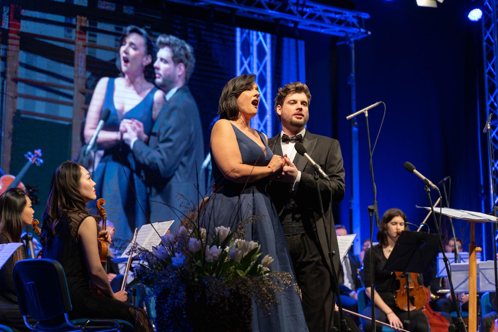 2019 / Concert ALJAŽ and ANDREJ VESEL and the Symphony Orchestra Ton der Jungend Vienna