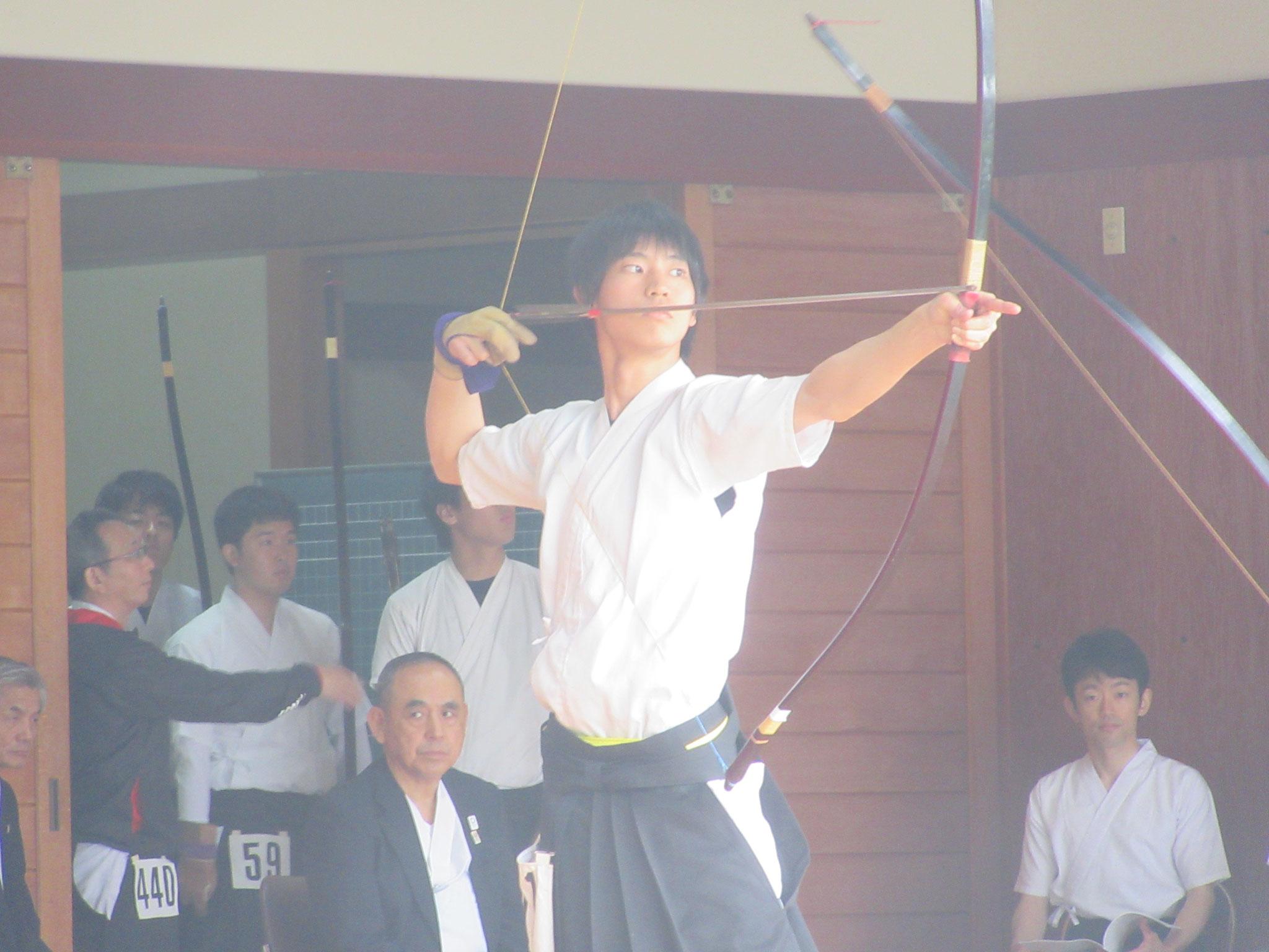 矢野昂(1)予選通過