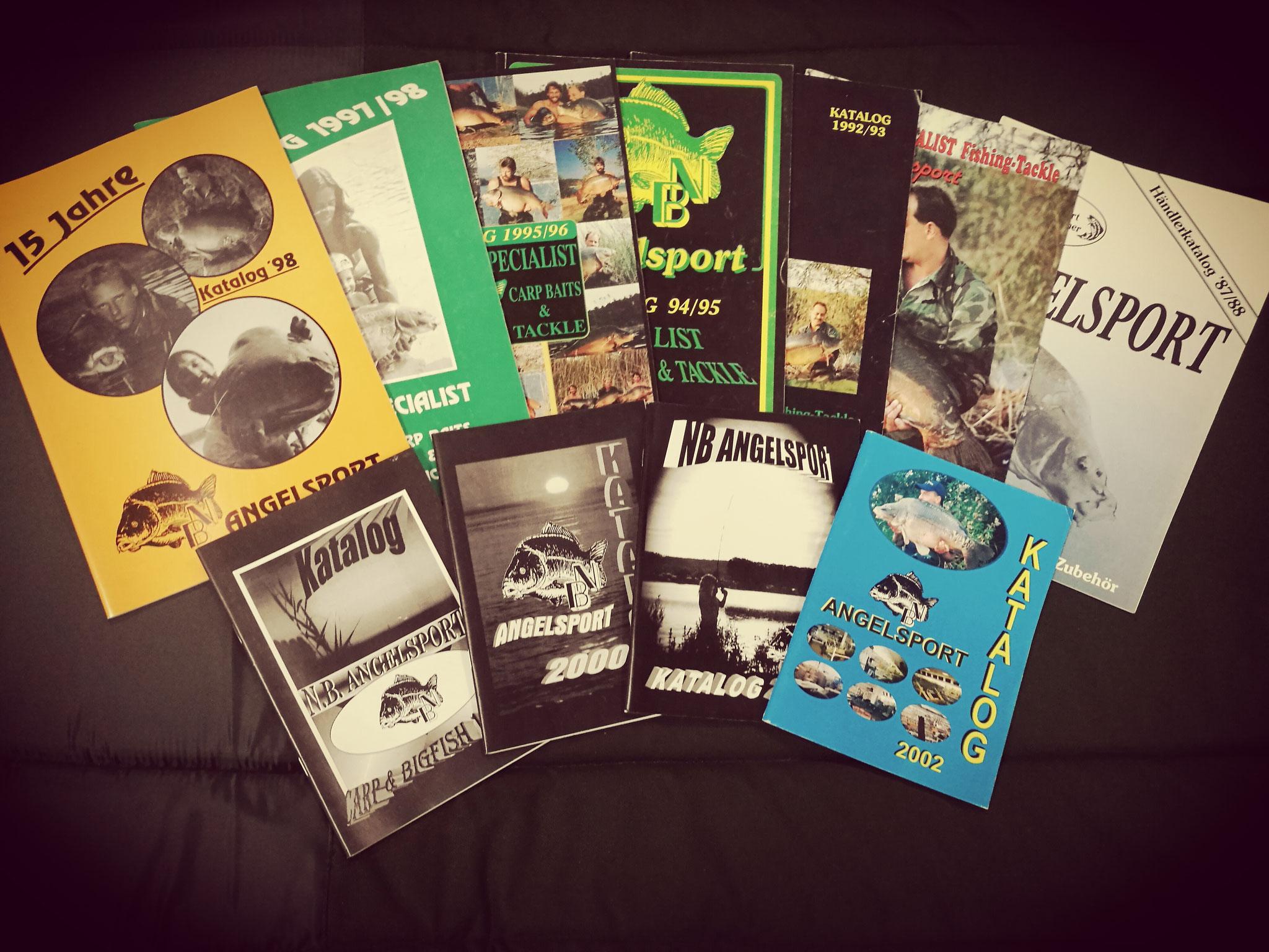 Kataloge von 1987-2002
