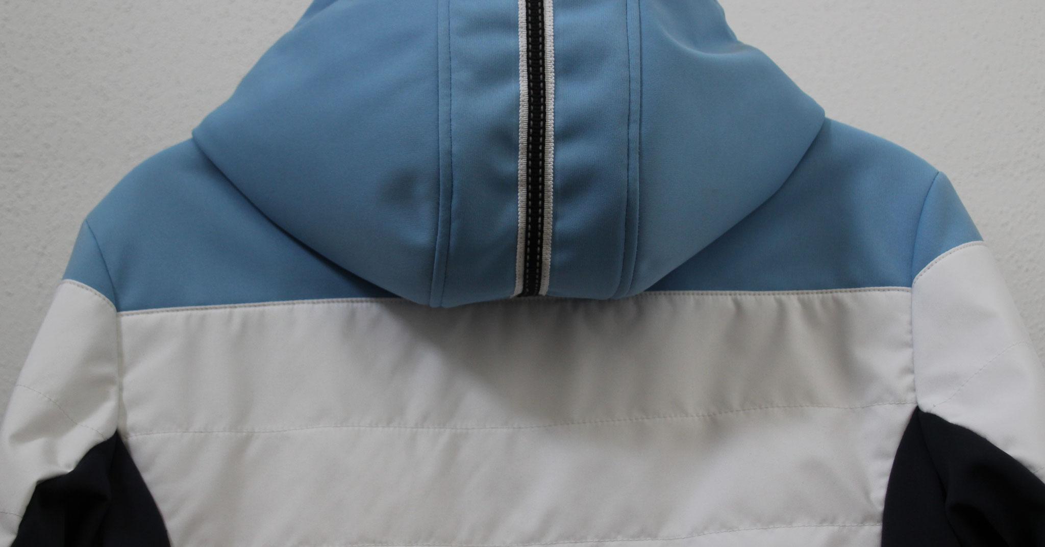 Damenskijacke Rückenansicht