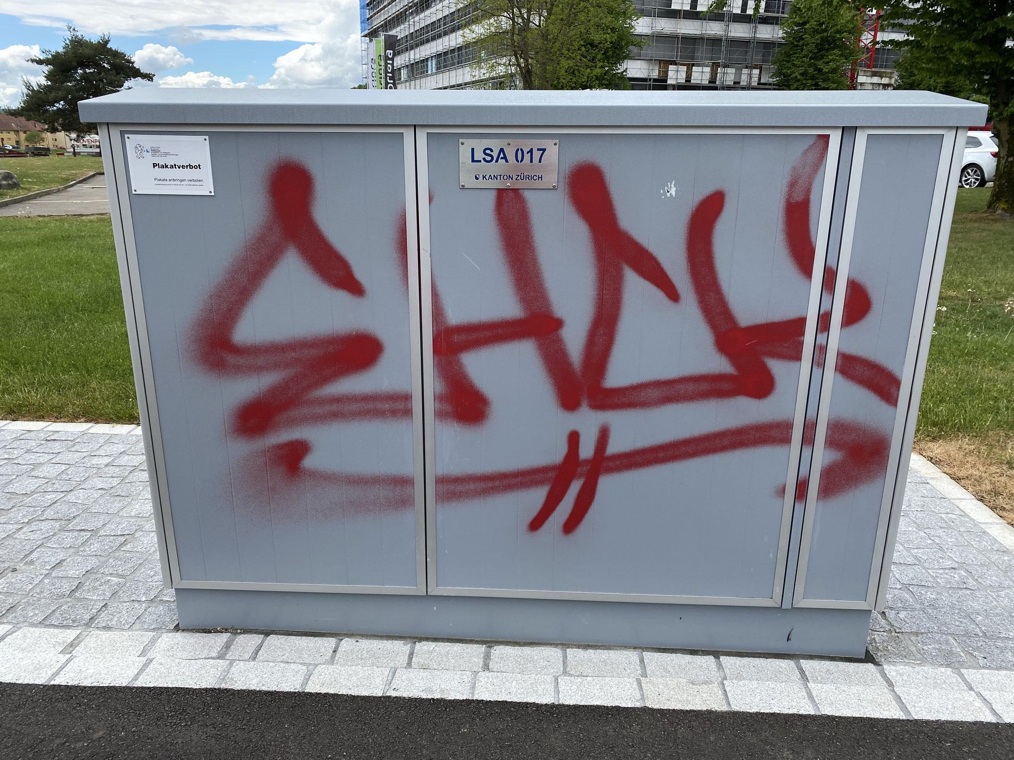 STG-Kabine / Vorher