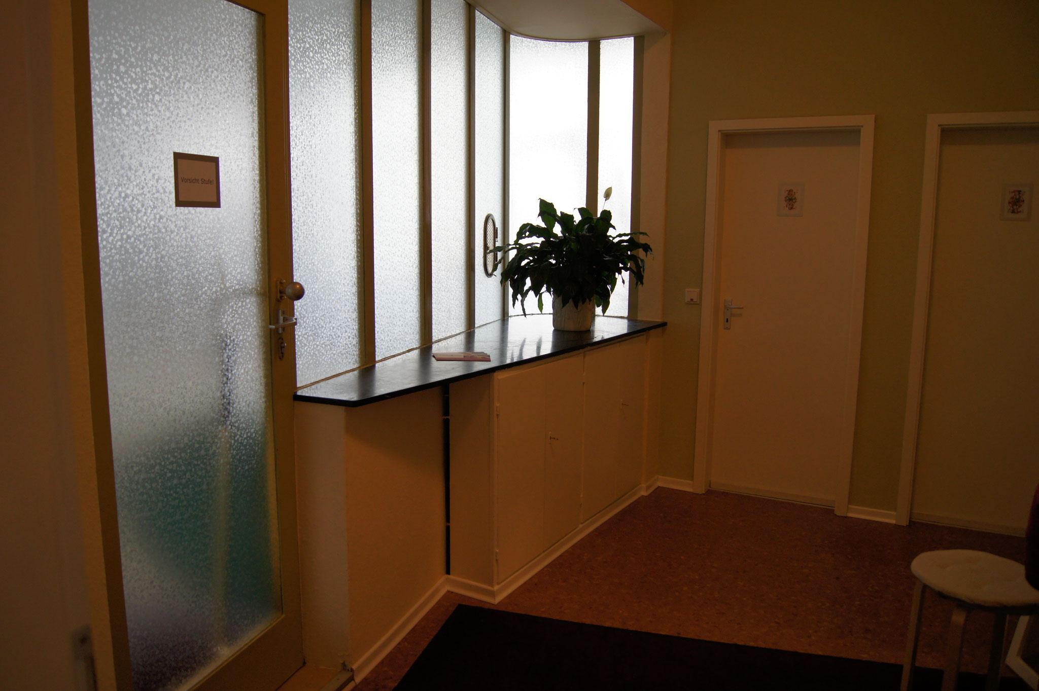 Eingangsbereich Garderobe