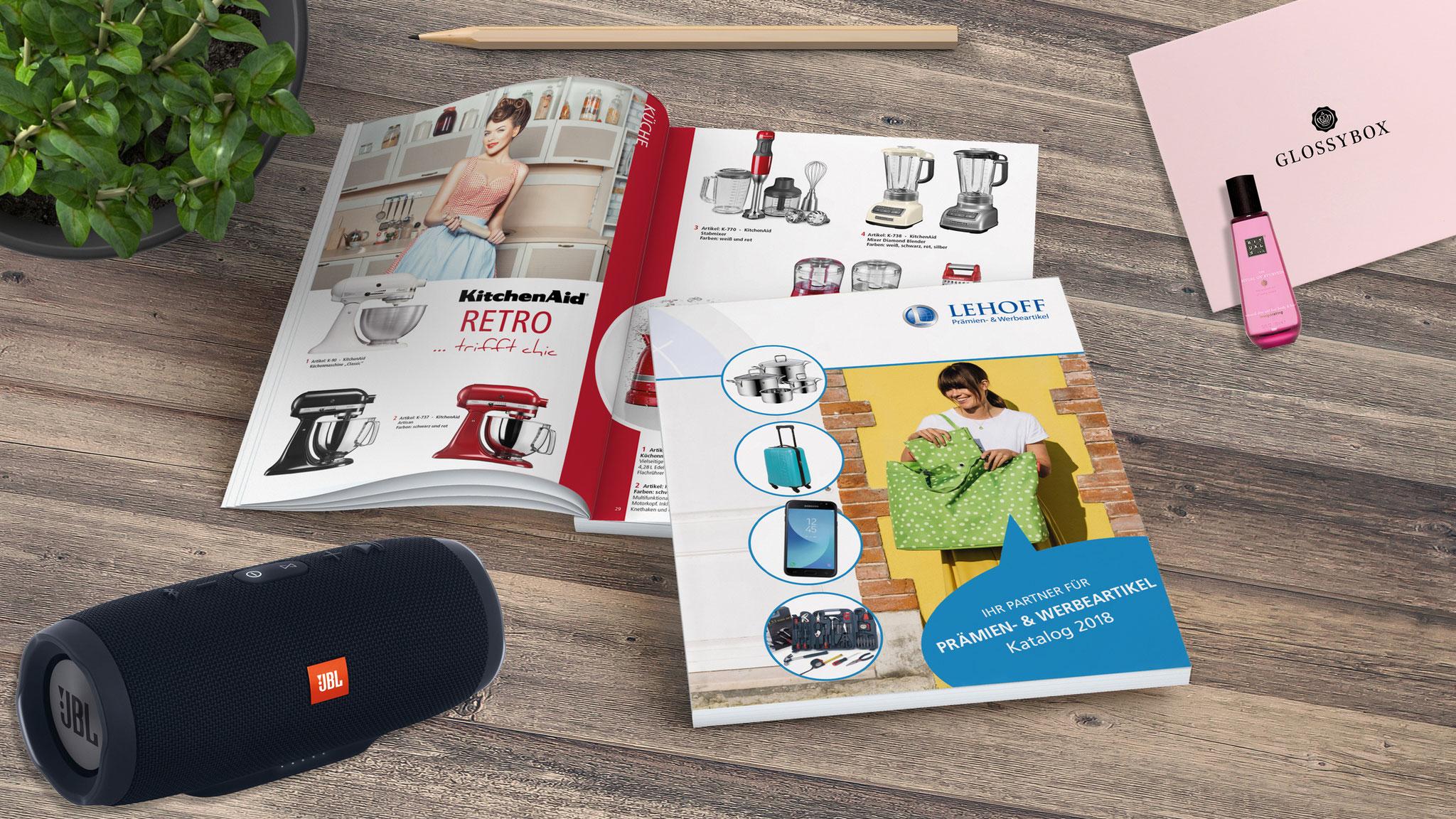 Kunde: Lehoff / Katalog für Prämien- und Werbemittel